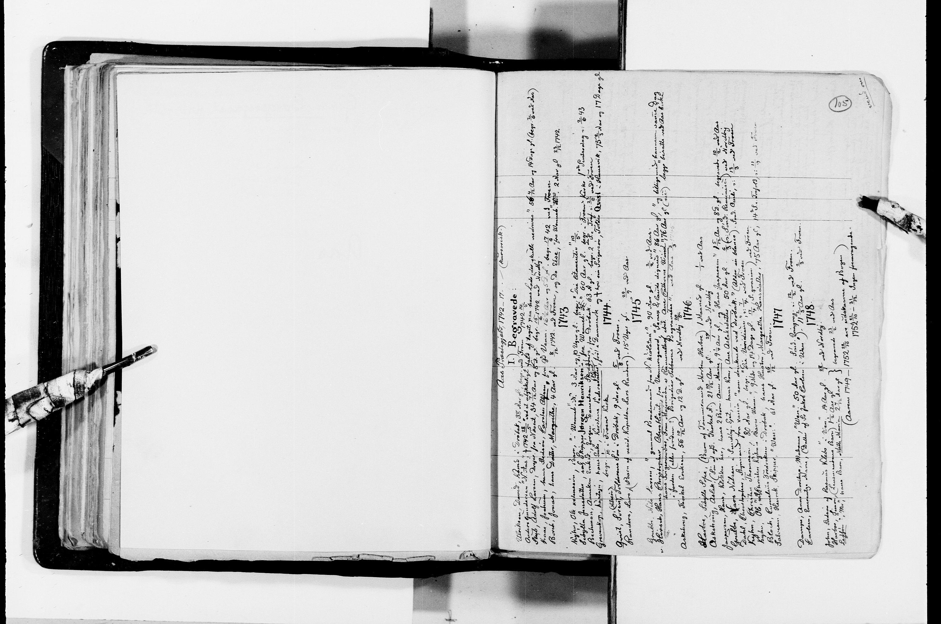 RA, Lassens samlinger, F/Fc, s. 105