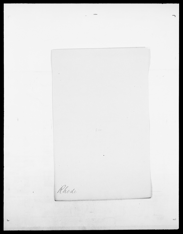 SAO, Delgobe, Charles Antoine - samling, D/Da/L0032: Rabakovsky - Rivertz, s. 493