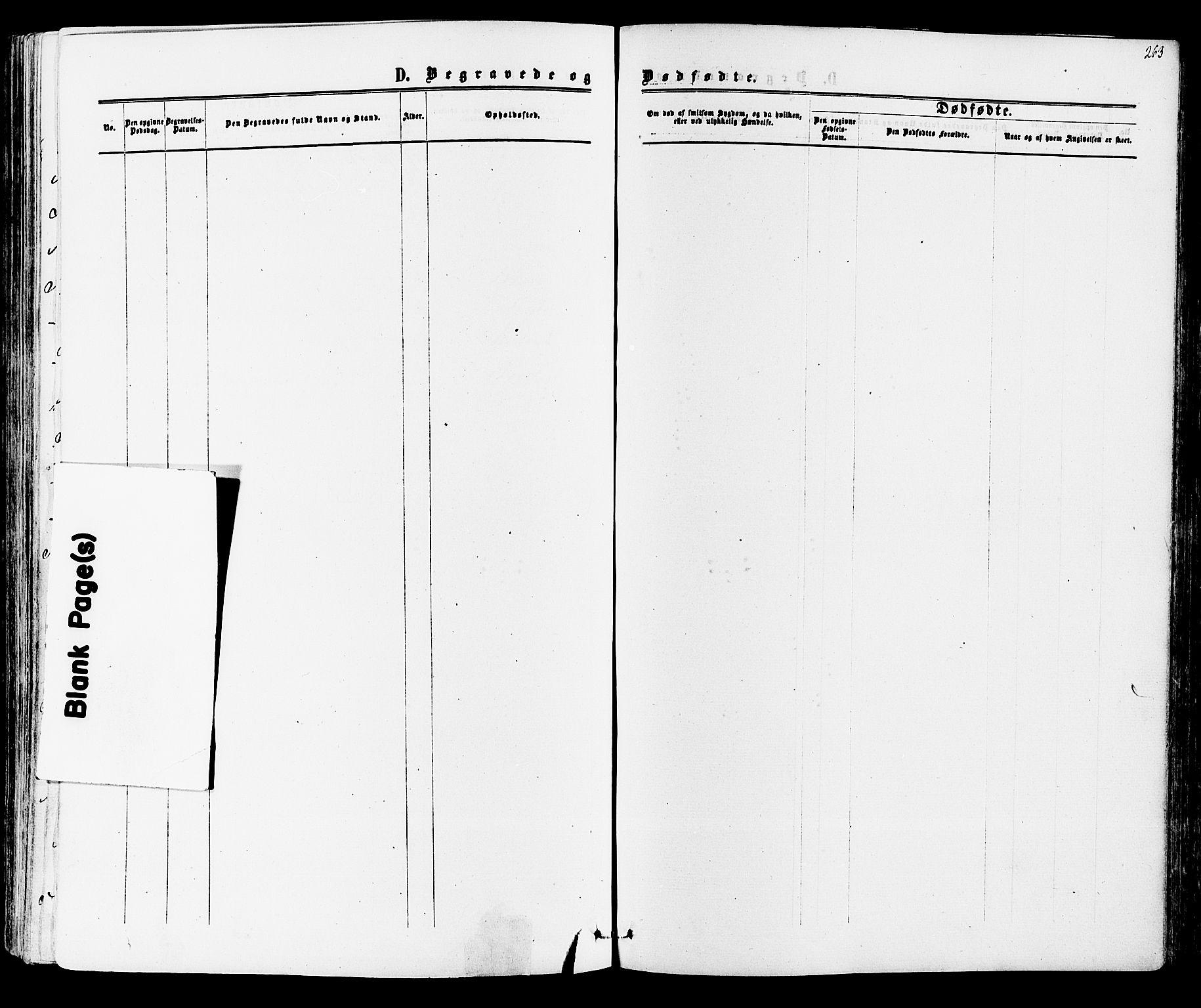 SAKO, Mo kirkebøker, F/Fa/L0006: Ministerialbok nr. I 6, 1865-1885, s. 263