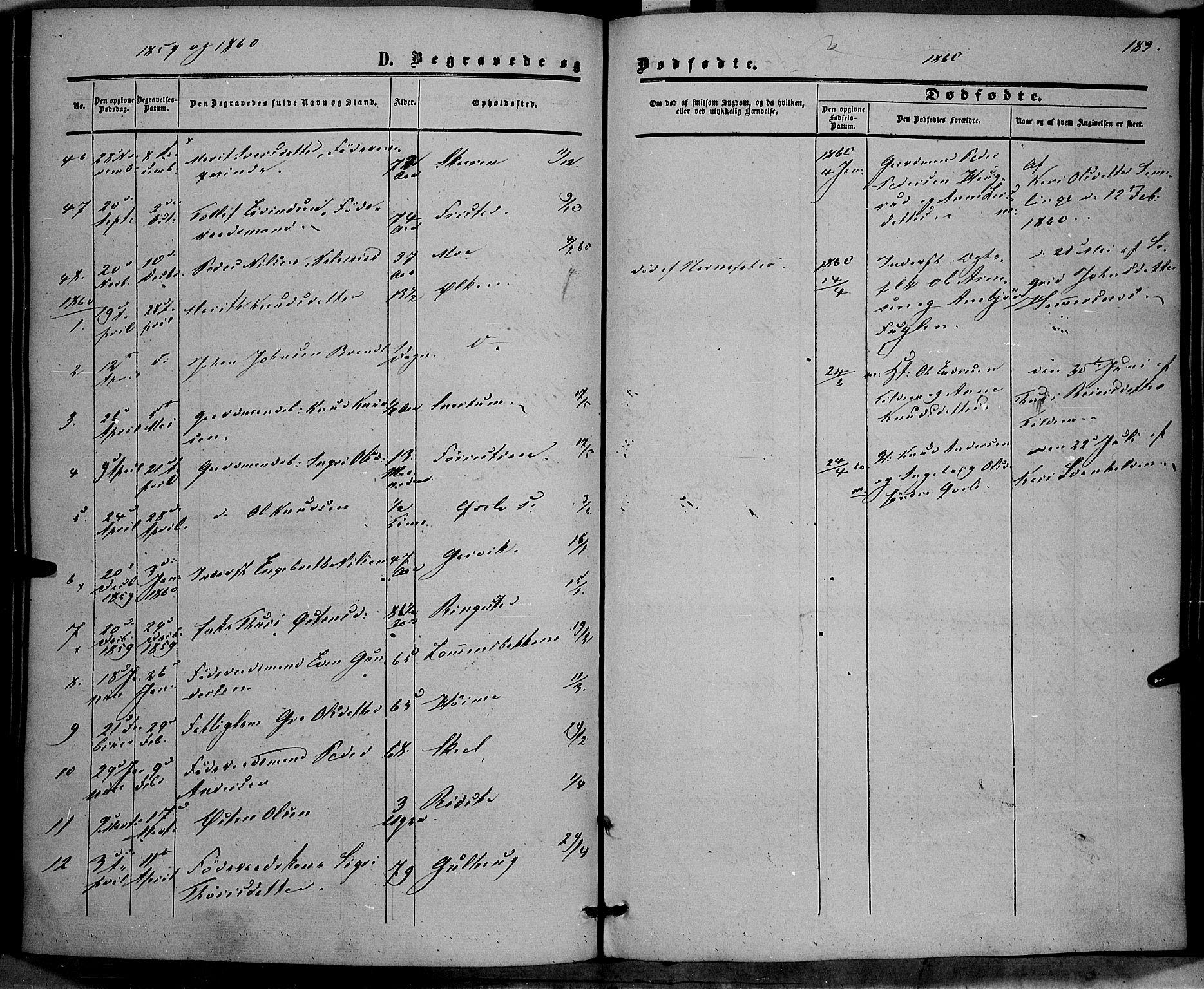 SAH, Vestre Slidre prestekontor, Ministerialbok nr. 2, 1856-1864, s. 183