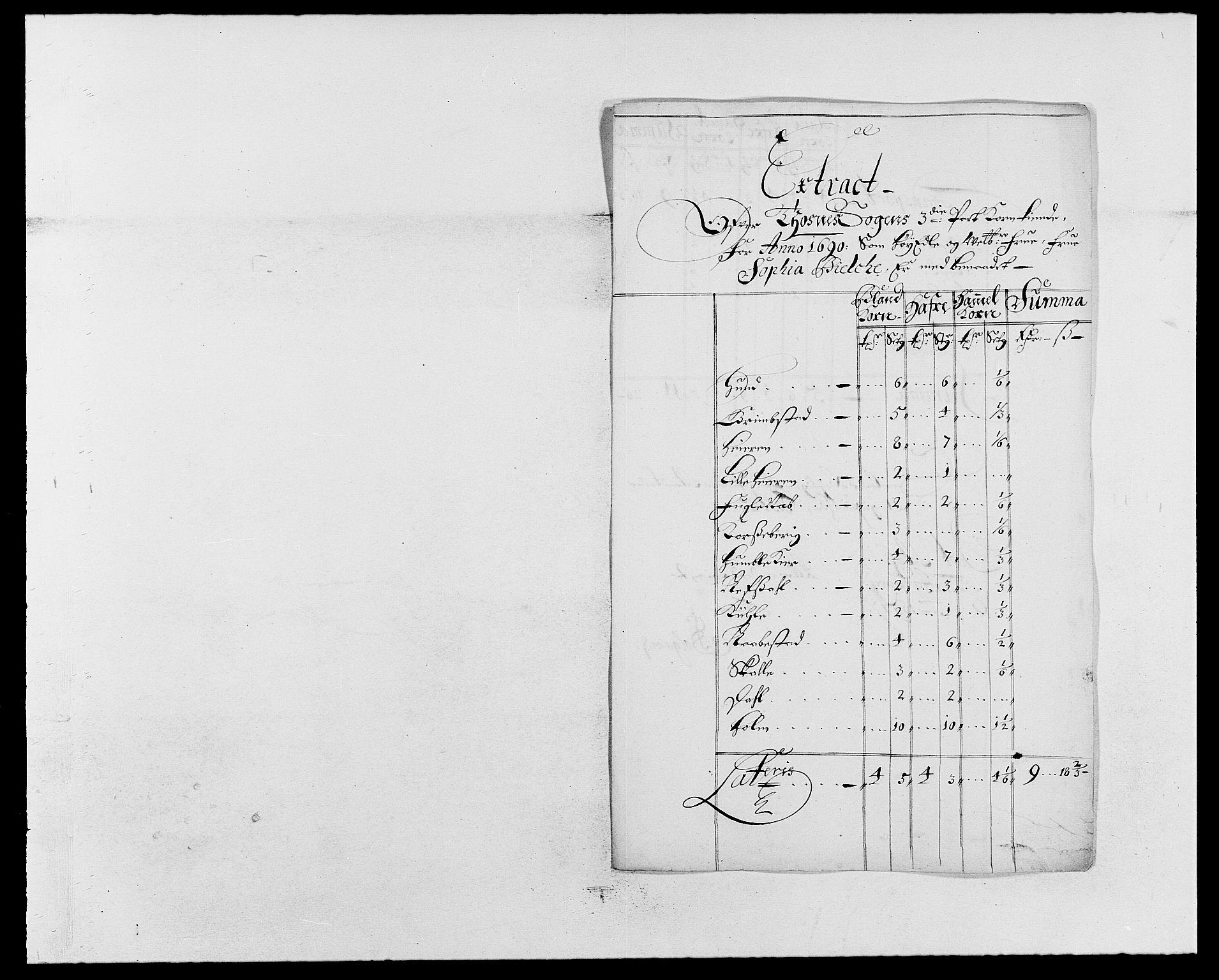 RA, Rentekammeret inntil 1814, Reviderte regnskaper, Fogderegnskap, R03/L0119: Fogderegnskap Onsøy, Tune, Veme og Åbygge fogderi, 1690-1691, s. 117
