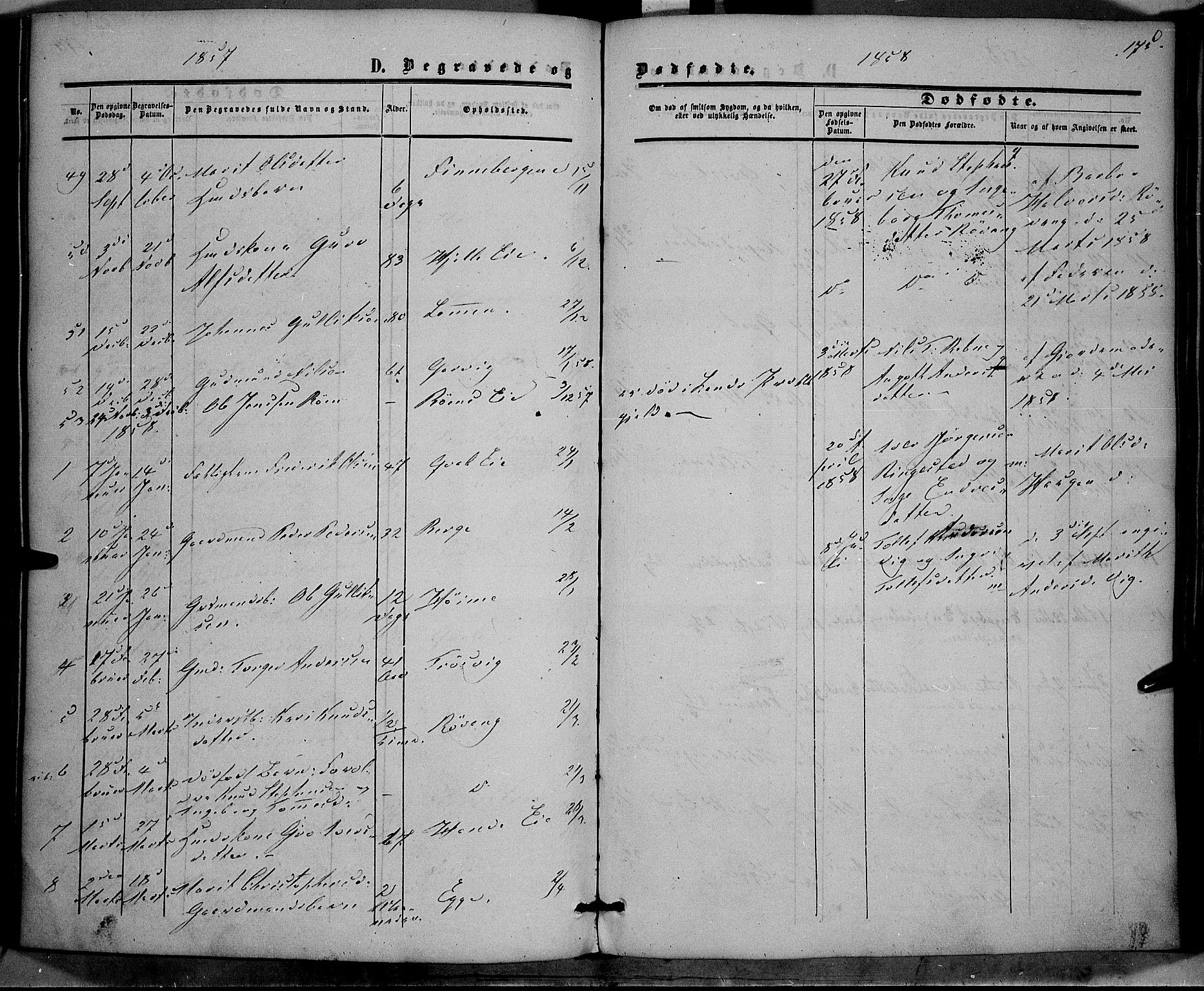 SAH, Vestre Slidre prestekontor, Ministerialbok nr. 2, 1856-1864, s. 175