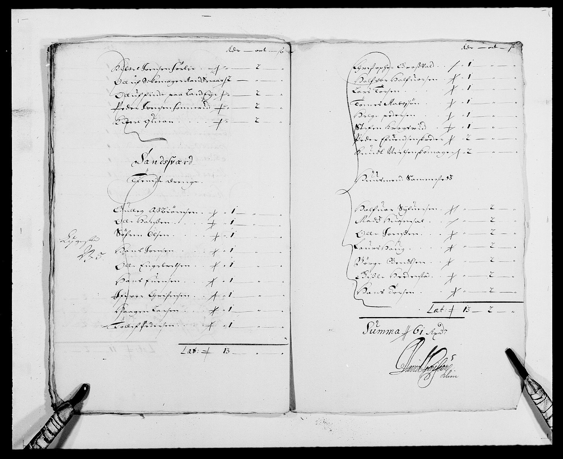 RA, Rentekammeret inntil 1814, Reviderte regnskaper, Fogderegnskap, R24/L1570: Fogderegnskap Numedal og Sandsvær, 1679-1686, s. 340