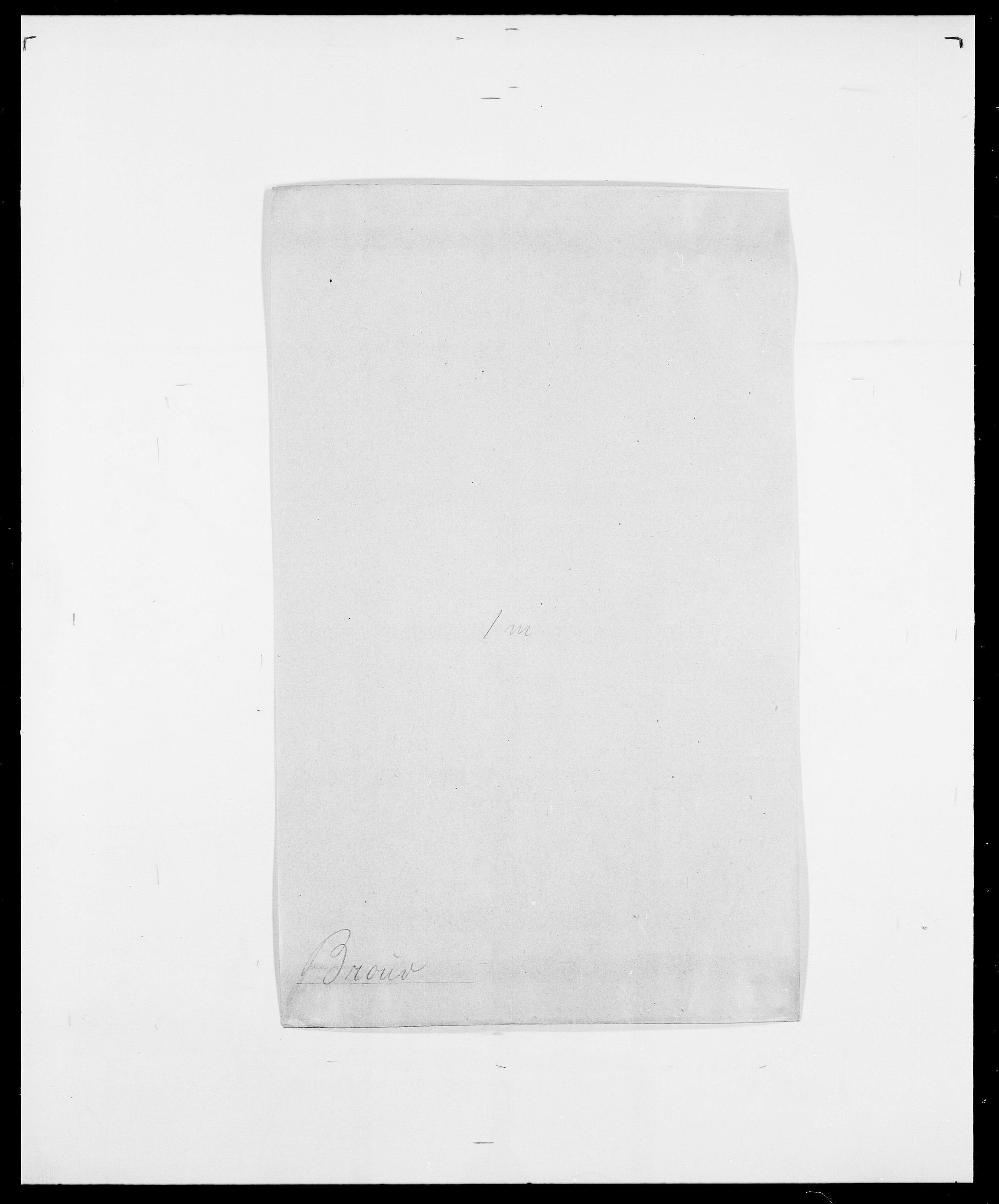 SAO, Delgobe, Charles Antoine - samling, D/Da/L0006: Brambani - Brønø, s. 539