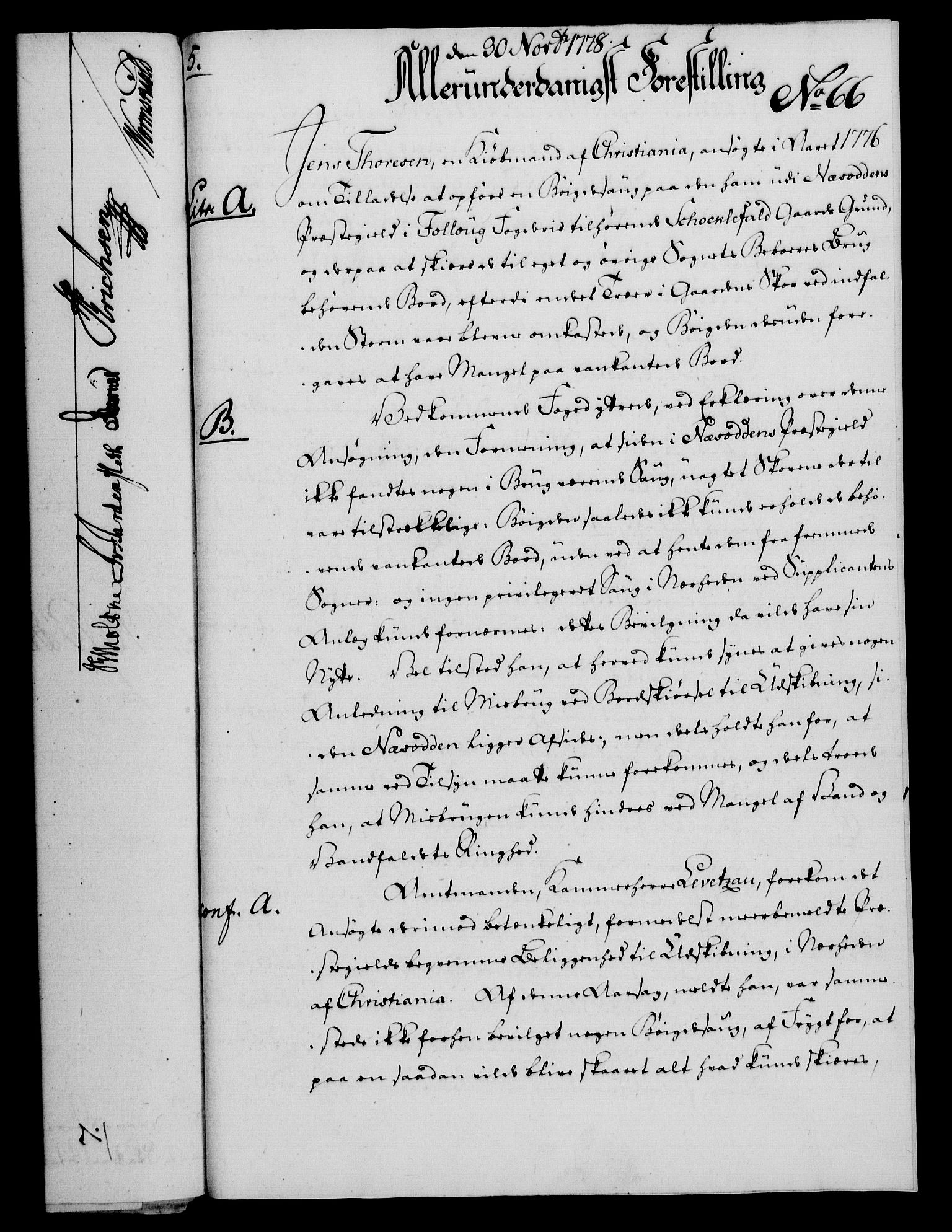 RA, Rentekammeret, Kammerkanselliet, G/Gf/Gfa/L0060: Norsk relasjons- og resolusjonsprotokoll (merket RK 52.60), 1778, s. 572