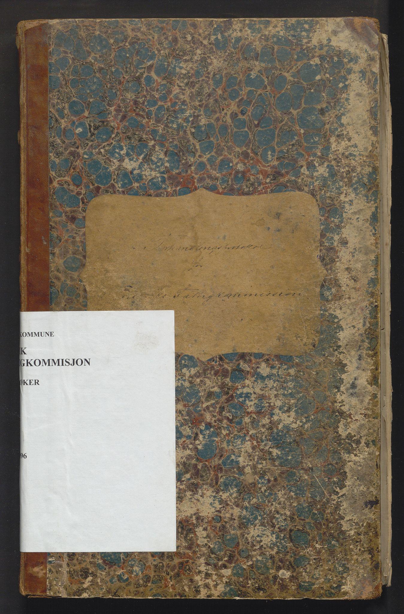 IKAH, Bruvik kommune. Fattigstyret, A/Aa/L0001: Møtebok for Bruvik fattigkommisjon, 1870-1896