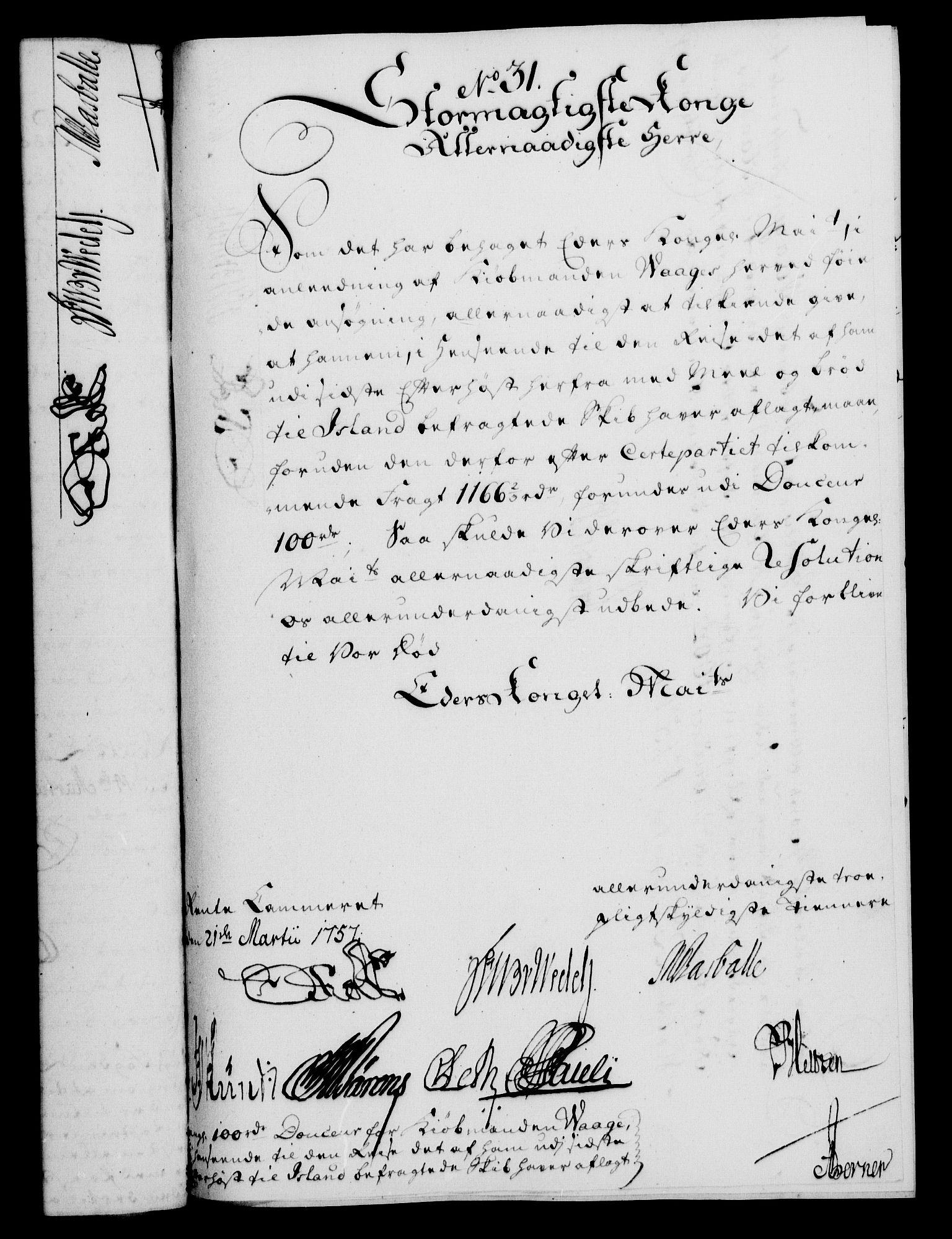 RA, Rentekammeret, Kammerkanselliet, G/Gf/Gfa/L0039: Norsk relasjons- og resolusjonsprotokoll (merket RK 52.39), 1757, s. 202