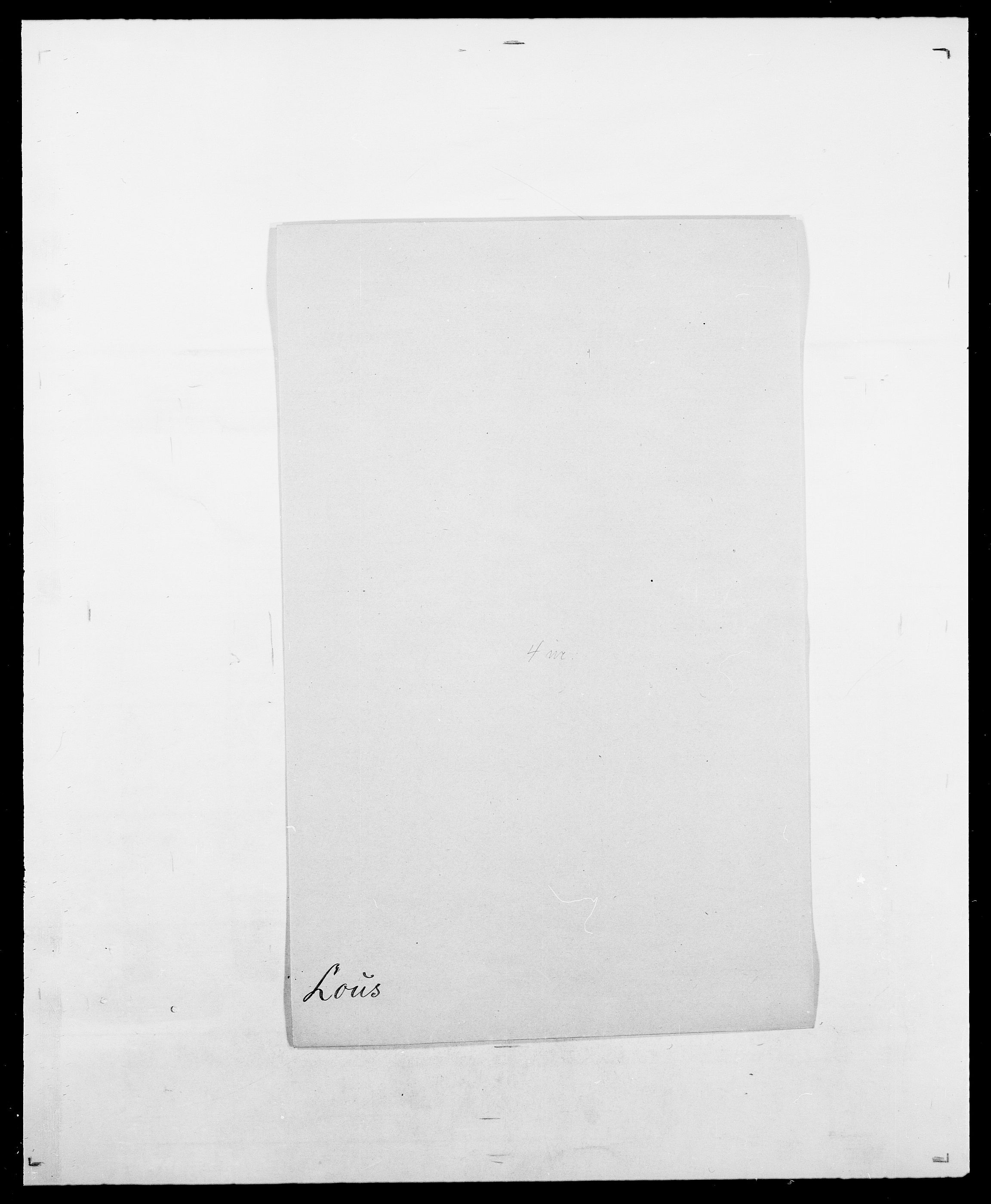 SAO, Delgobe, Charles Antoine - samling, D/Da/L0024: Lobech - Lærum, s. 346