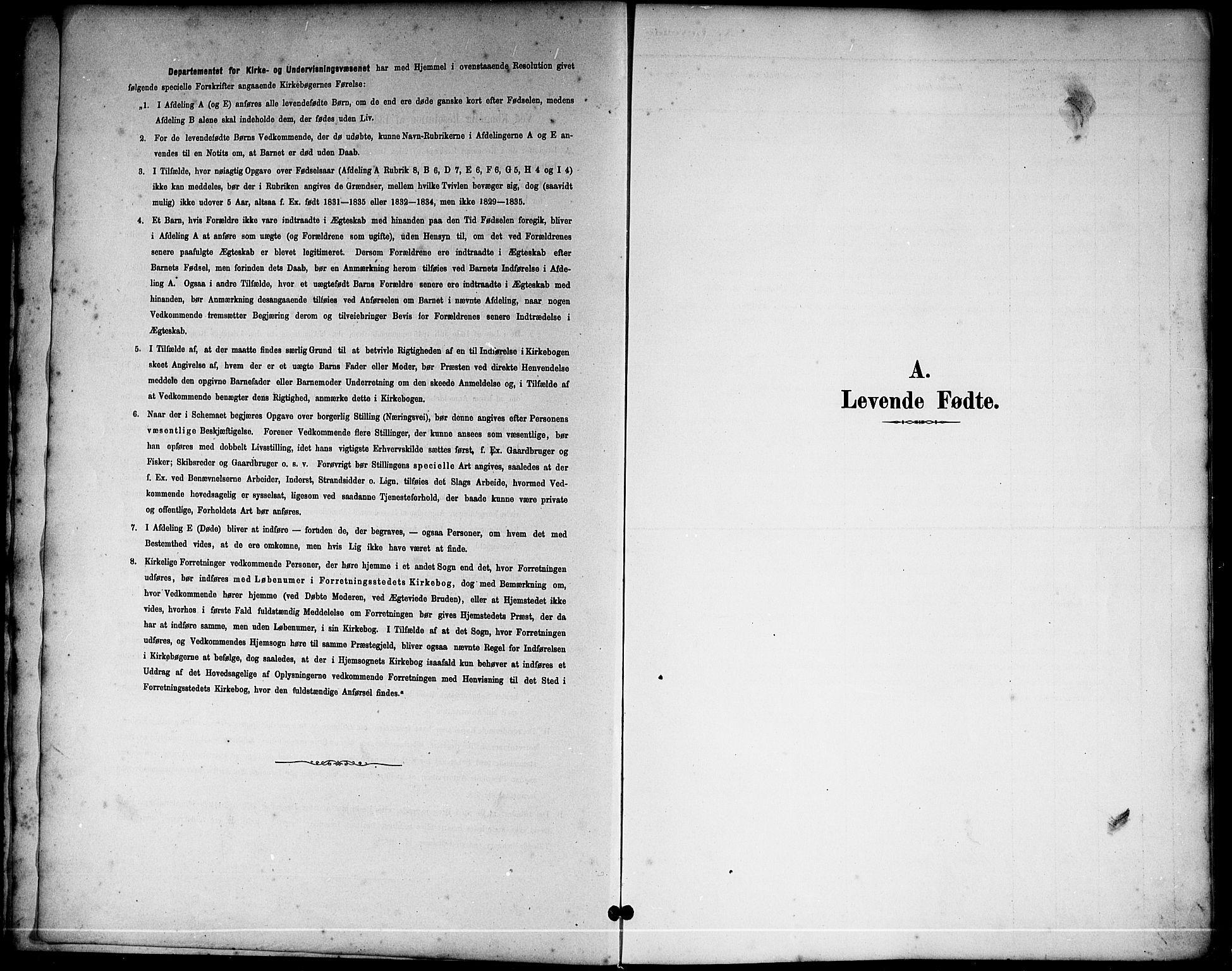 SAKO, Sannidal kirkebøker, G/Ga/L0003: Klokkerbok nr. 3, 1887-1922