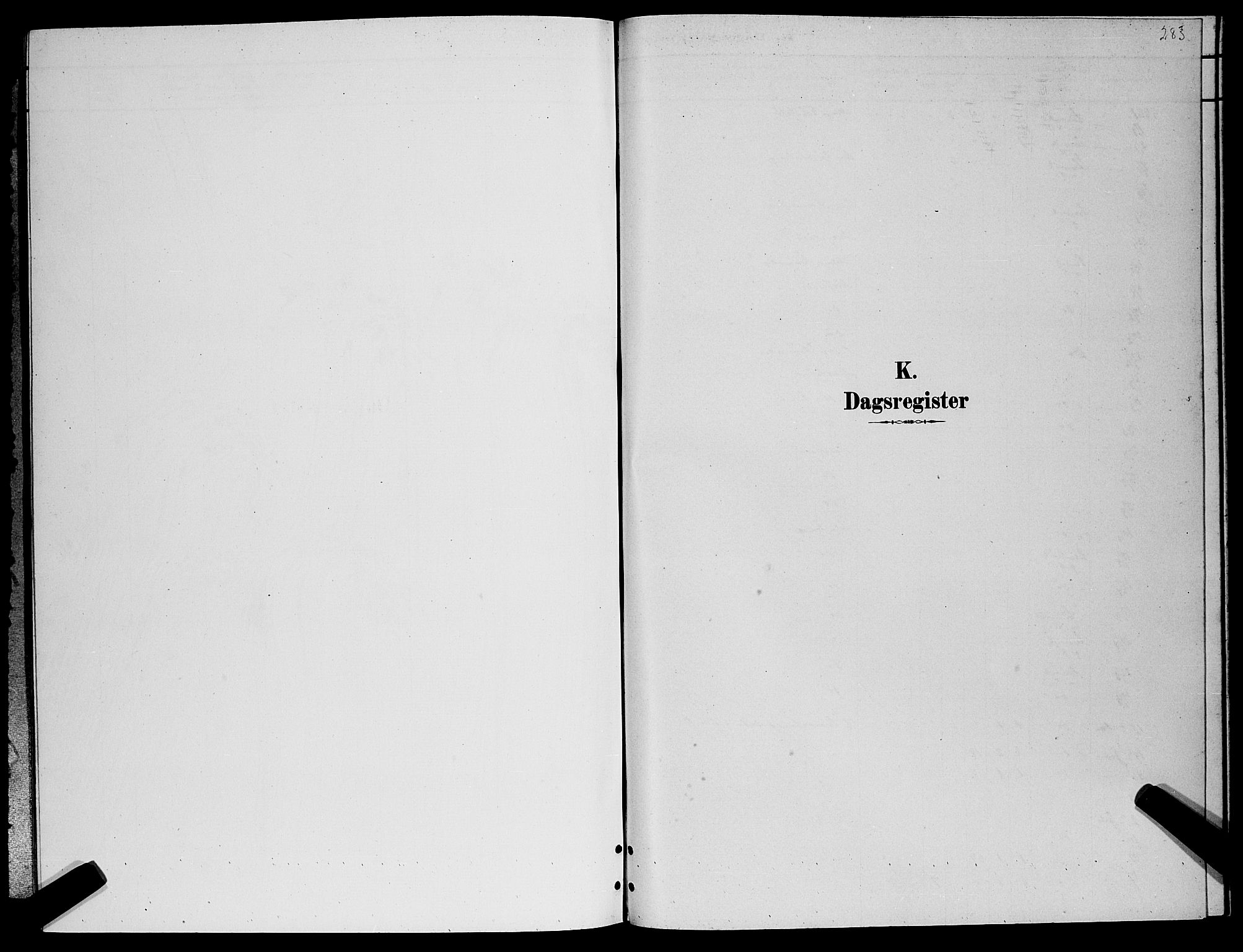 SATØ, Lenvik sokneprestembete, H/Ha: Klokkerbok nr. 6, 1881-1889, s. 283