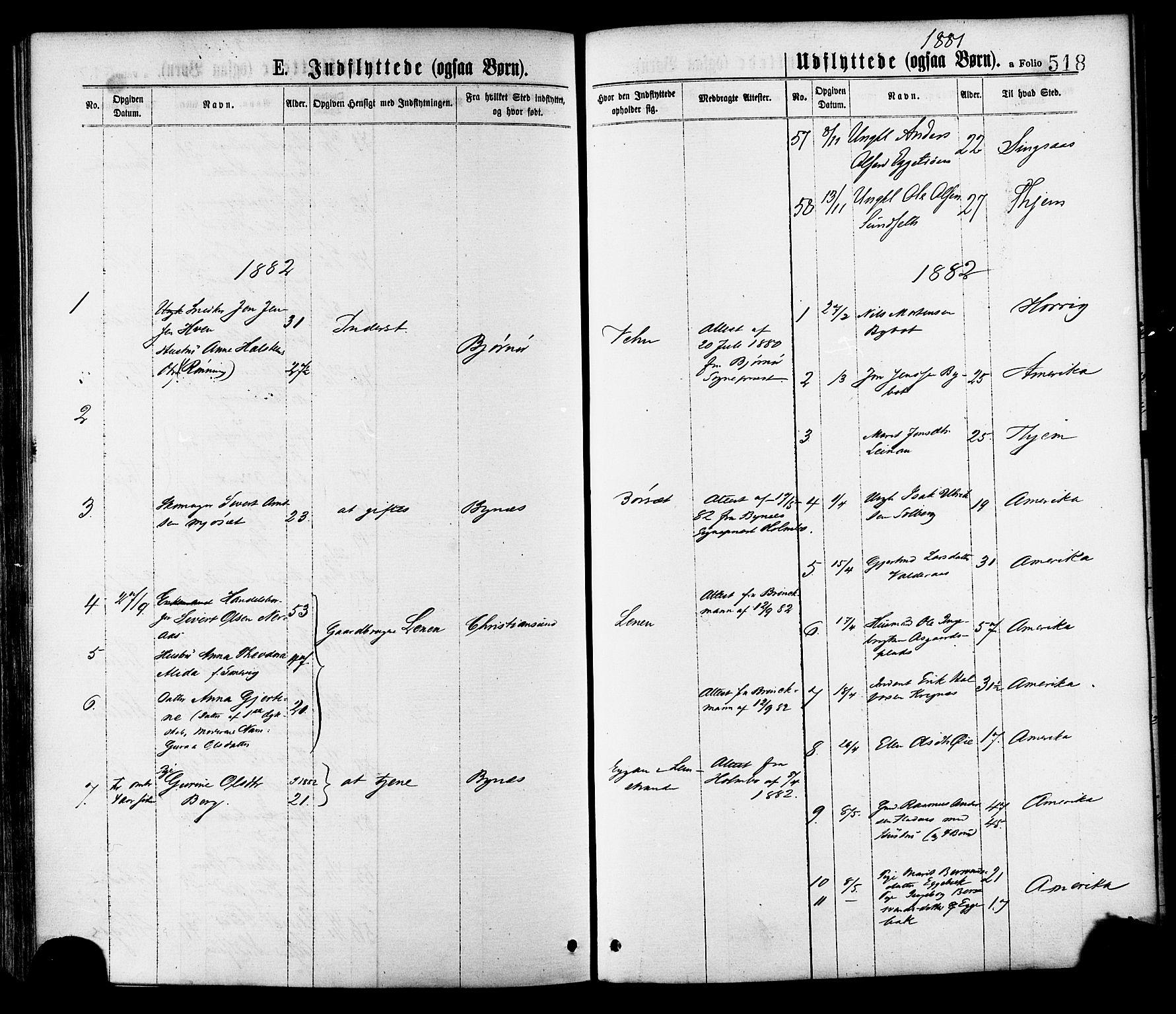 SAT, Ministerialprotokoller, klokkerbøker og fødselsregistre - Sør-Trøndelag, 691/L1079: Ministerialbok nr. 691A11, 1873-1886, s. 518