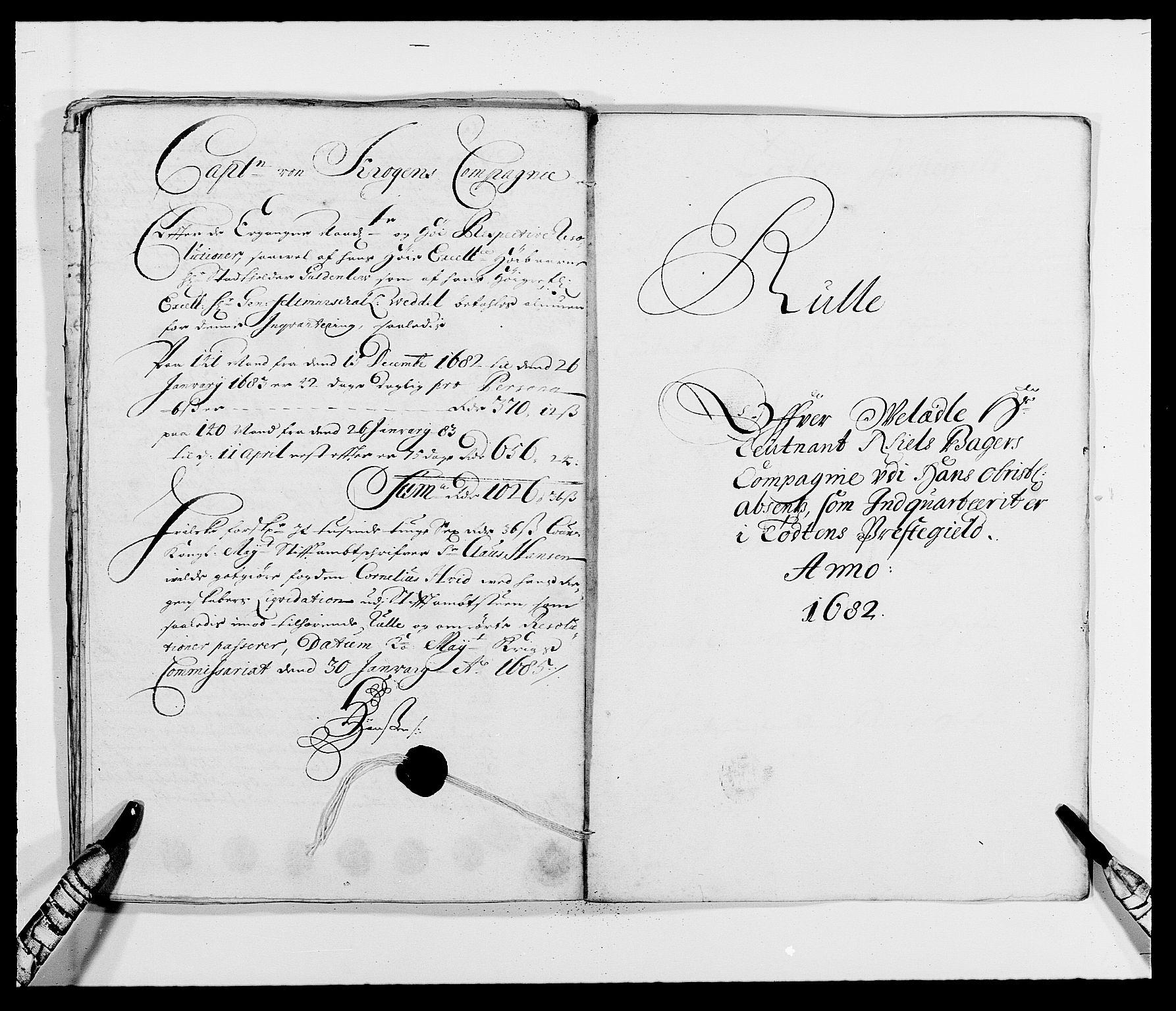 RA, Rentekammeret inntil 1814, Reviderte regnskaper, Fogderegnskap, R18/L1283: Fogderegnskap Hadeland, Toten og Valdres, 1684, s. 384