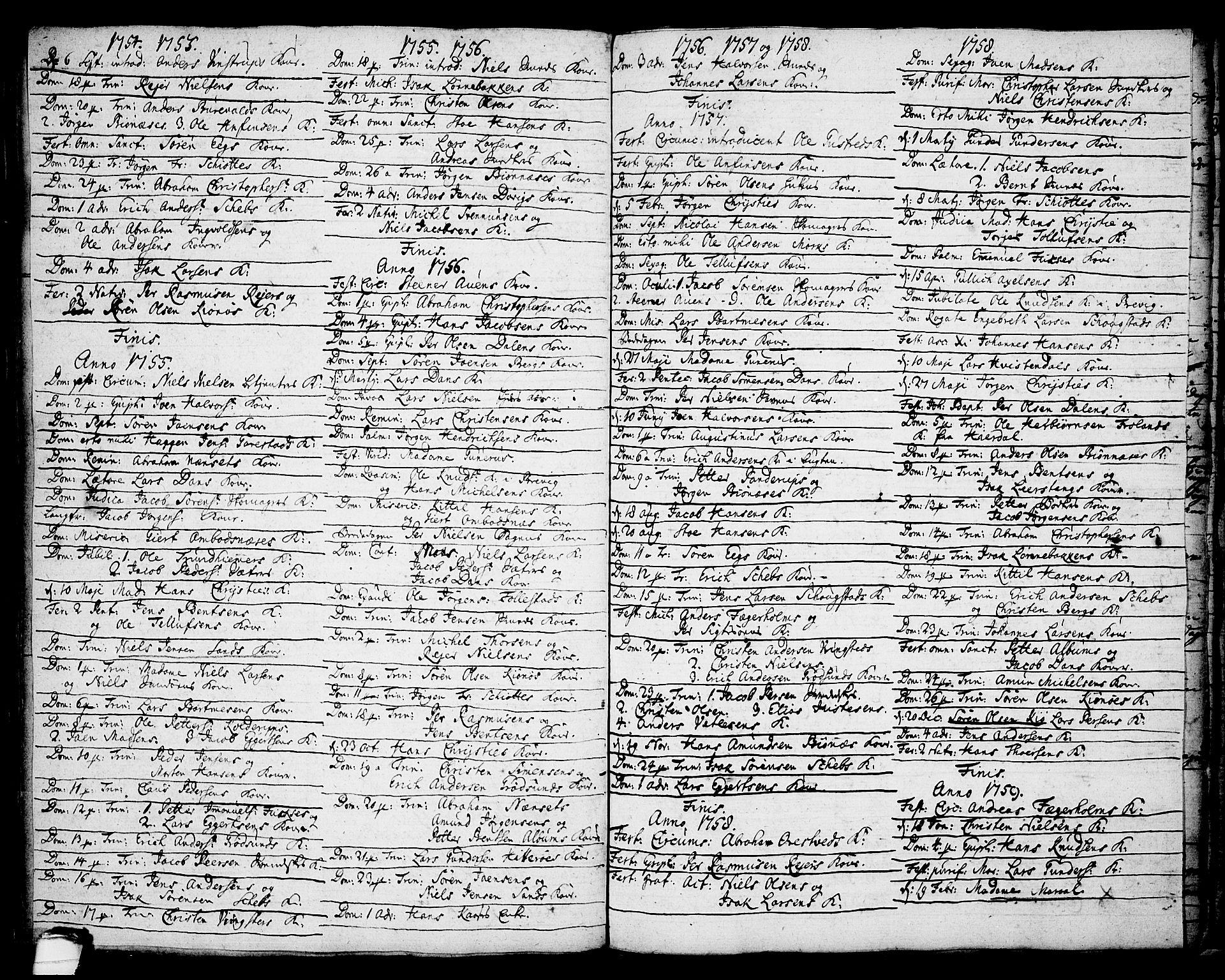SAKO, Brevik kirkebøker, F/Fa/L0002: Ministerialbok nr. 2, 1720-1764, s. 47c