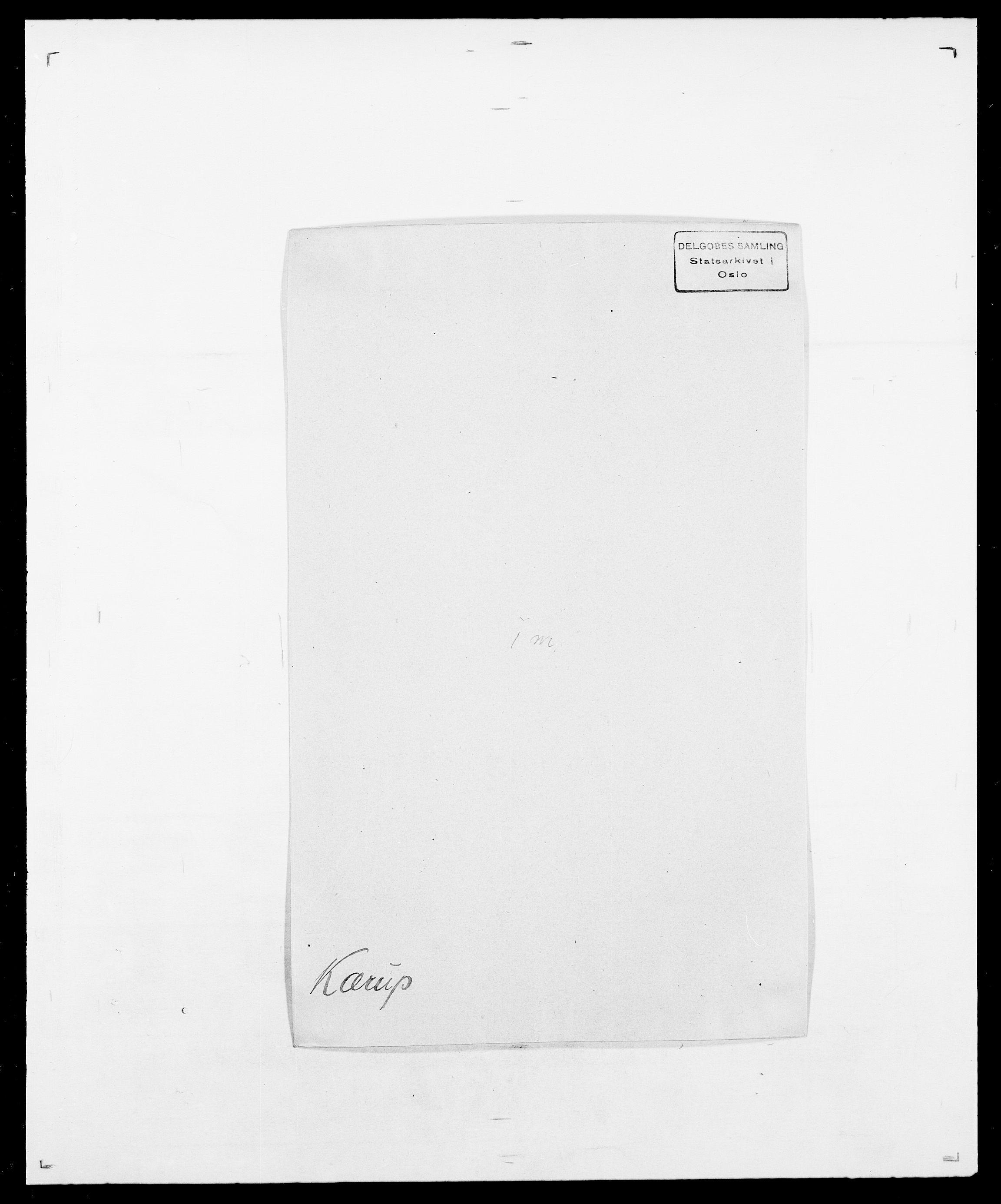 SAO, Delgobe, Charles Antoine - samling, D/Da/L0022: Krog - Lasteen, s. 287