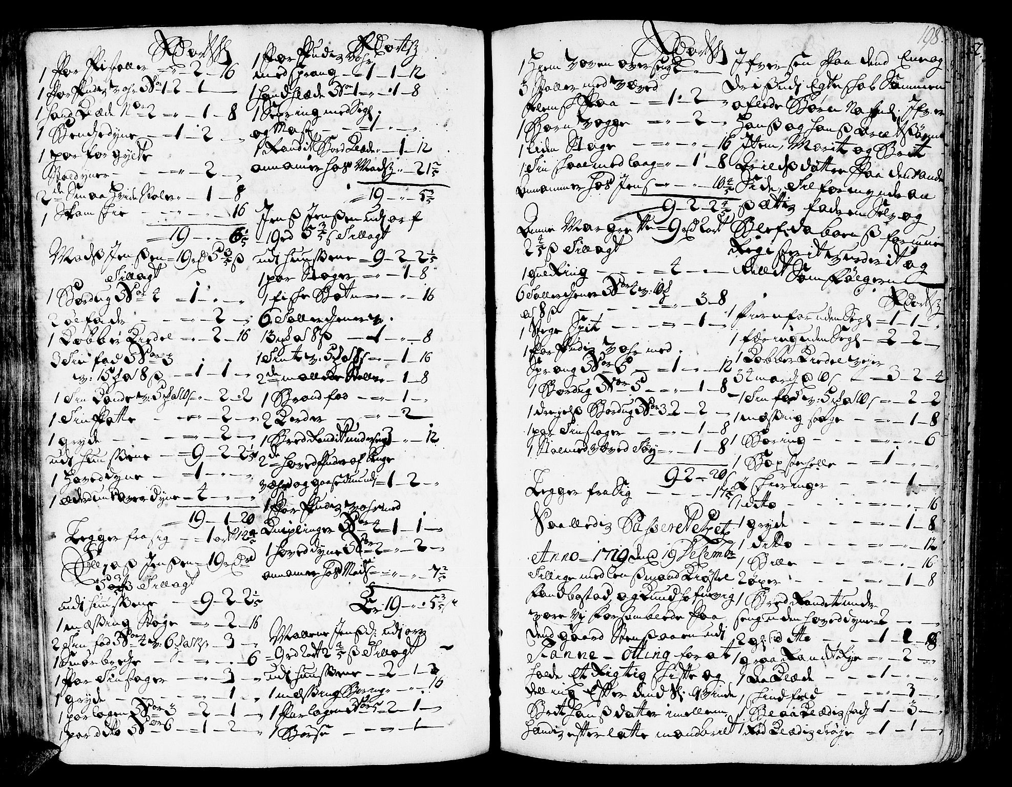 SAT, Romsdal sorenskriveri, 3/3A/L0006: Skifteprotokoll, 1718-1730, s. 197b-198a