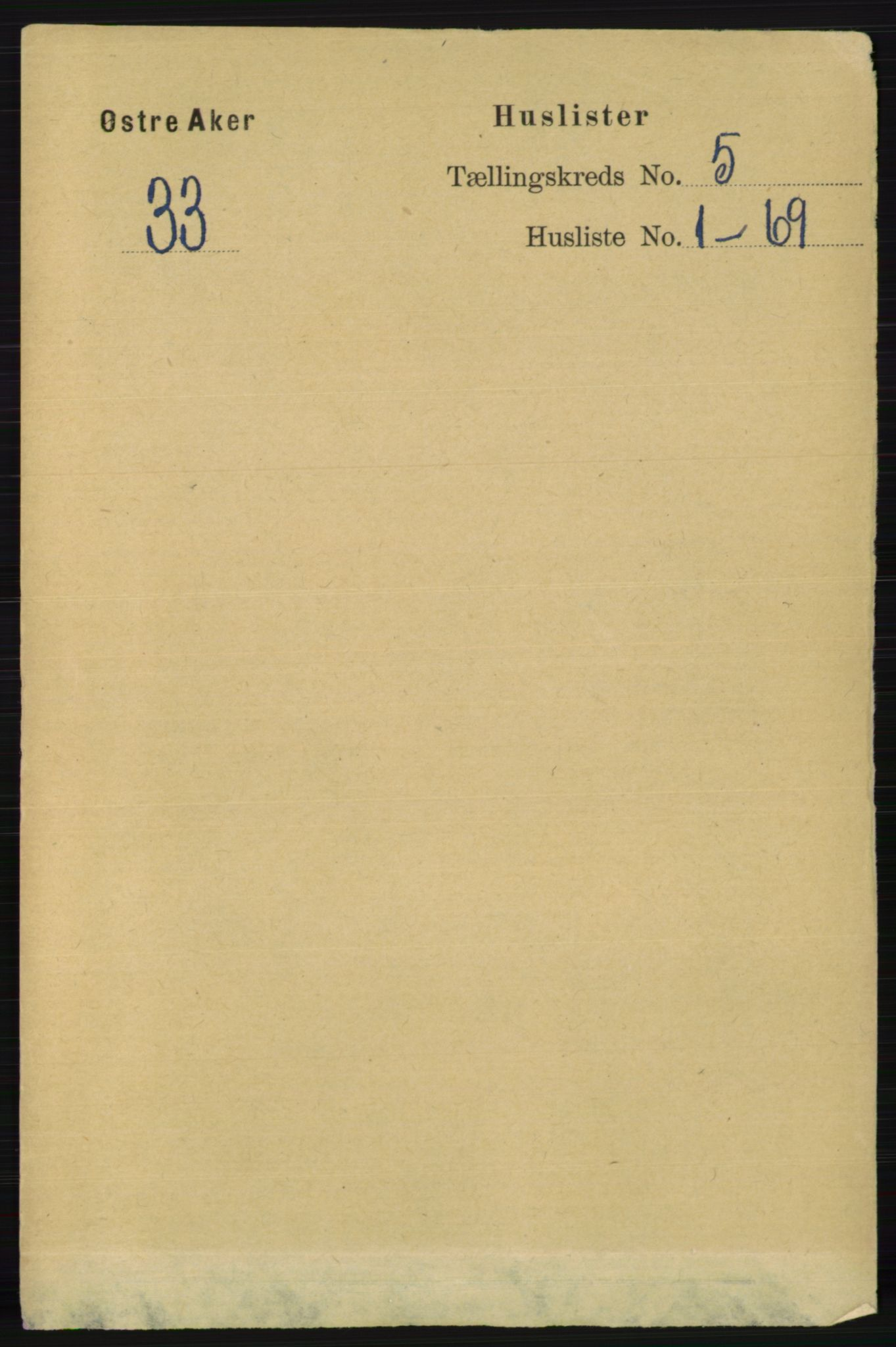 RA, Folketelling 1891 for 0218 Aker herred, 1891, s. 4890