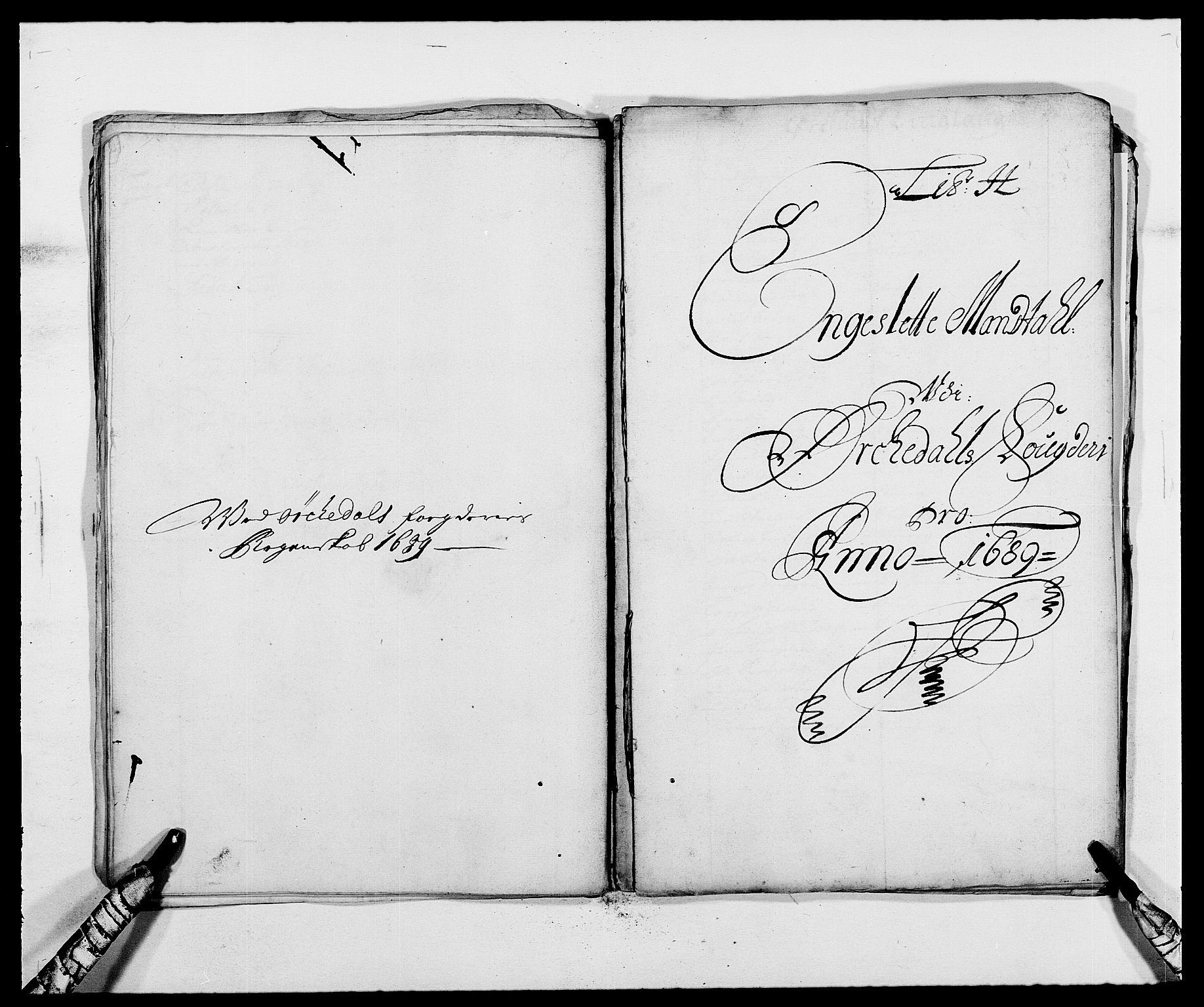 RA, Rentekammeret inntil 1814, Reviderte regnskaper, Fogderegnskap, R58/L3936: Fogderegnskap Orkdal, 1689-1690, s. 83