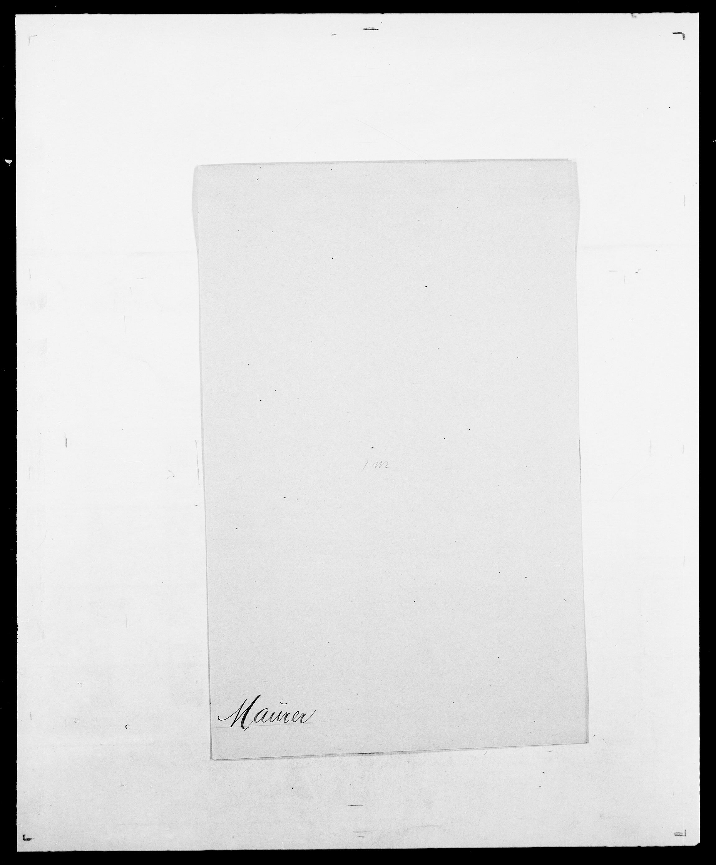 SAO, Delgobe, Charles Antoine - samling, D/Da/L0025: Løberg - Mazar, s. 556