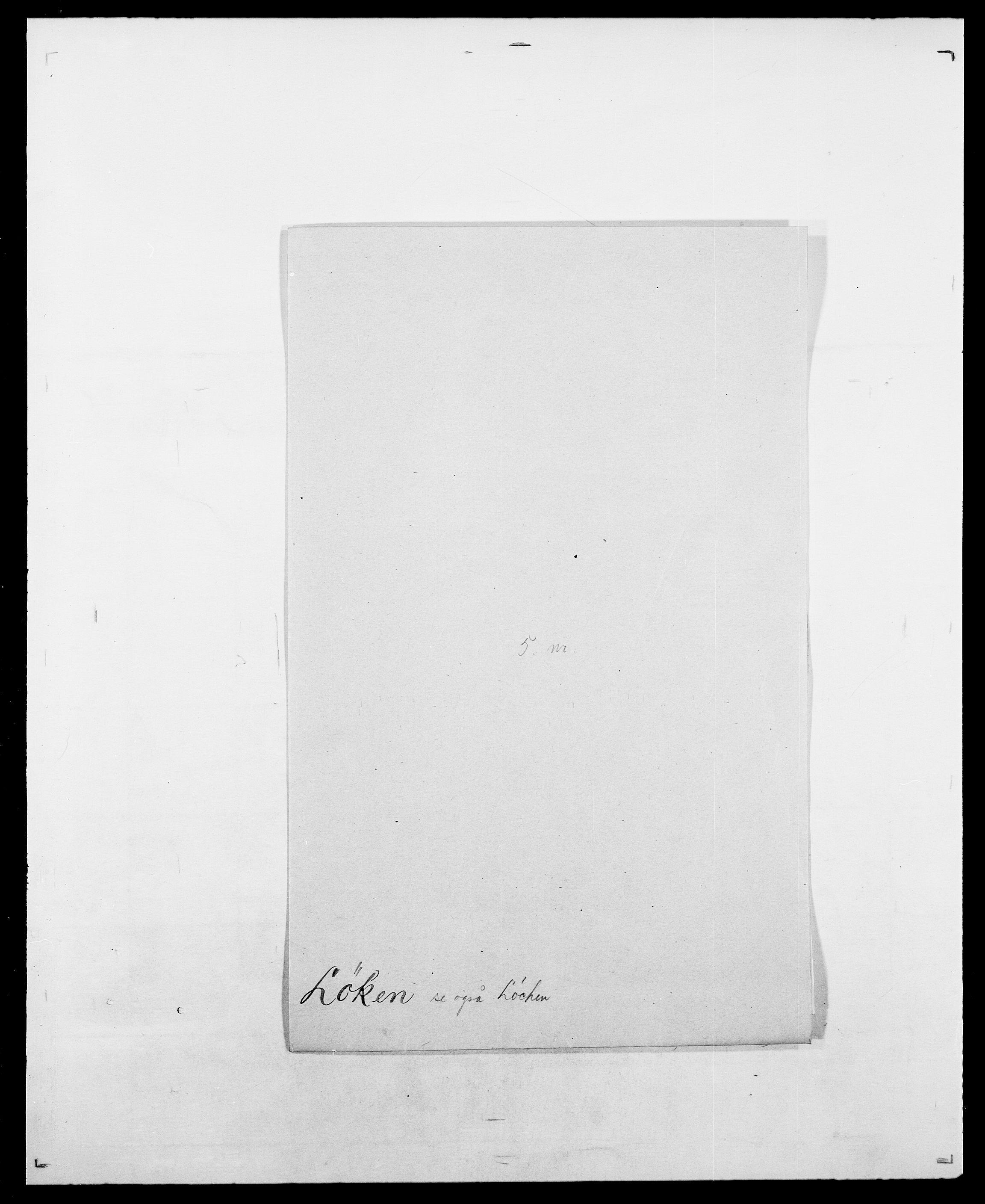 SAO, Delgobe, Charles Antoine - samling, D/Da/L0025: Løberg - Mazar, s. 29