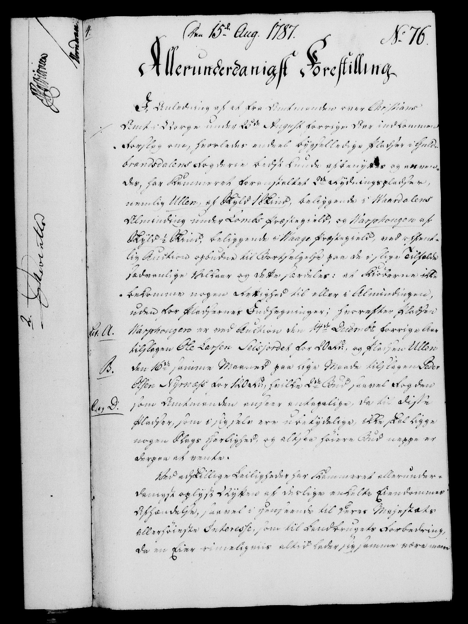 RA, Rentekammeret, Kammerkanselliet, G/Gf/Gfa/L0069: Norsk relasjons- og resolusjonsprotokoll (merket RK 52.69), 1787, s. 895