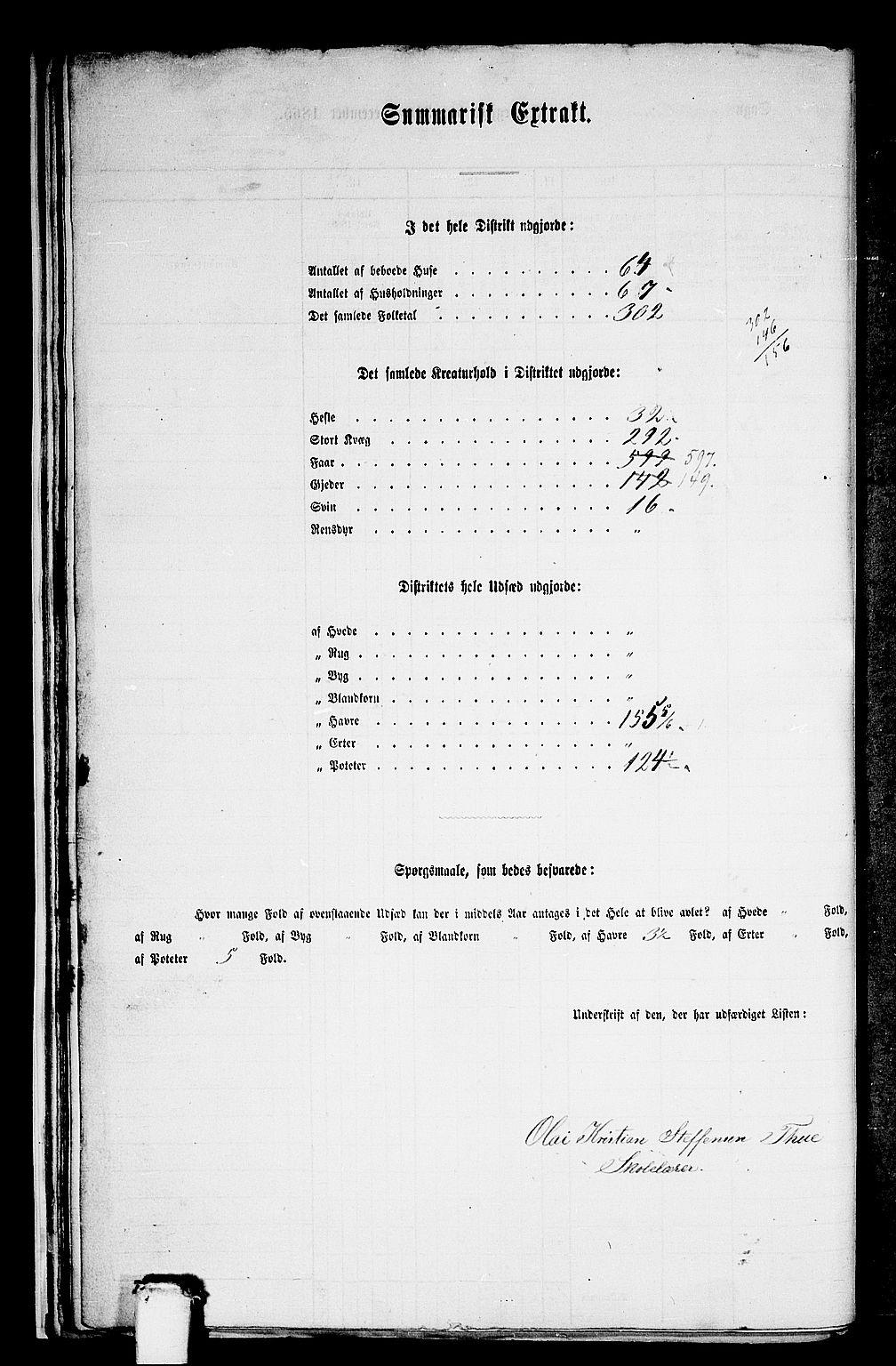 RA, Folketelling 1865 for 1511P Vanylven prestegjeld, 1865, s. 23