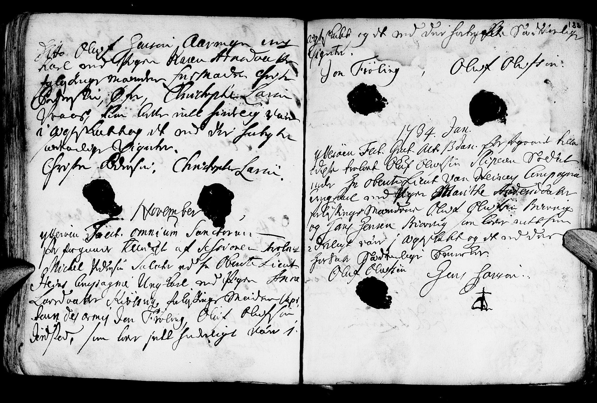 SAT, Ministerialprotokoller, klokkerbøker og fødselsregistre - Nord-Trøndelag, 722/L0215: Ministerialbok nr. 722A02, 1718-1755, s. 188