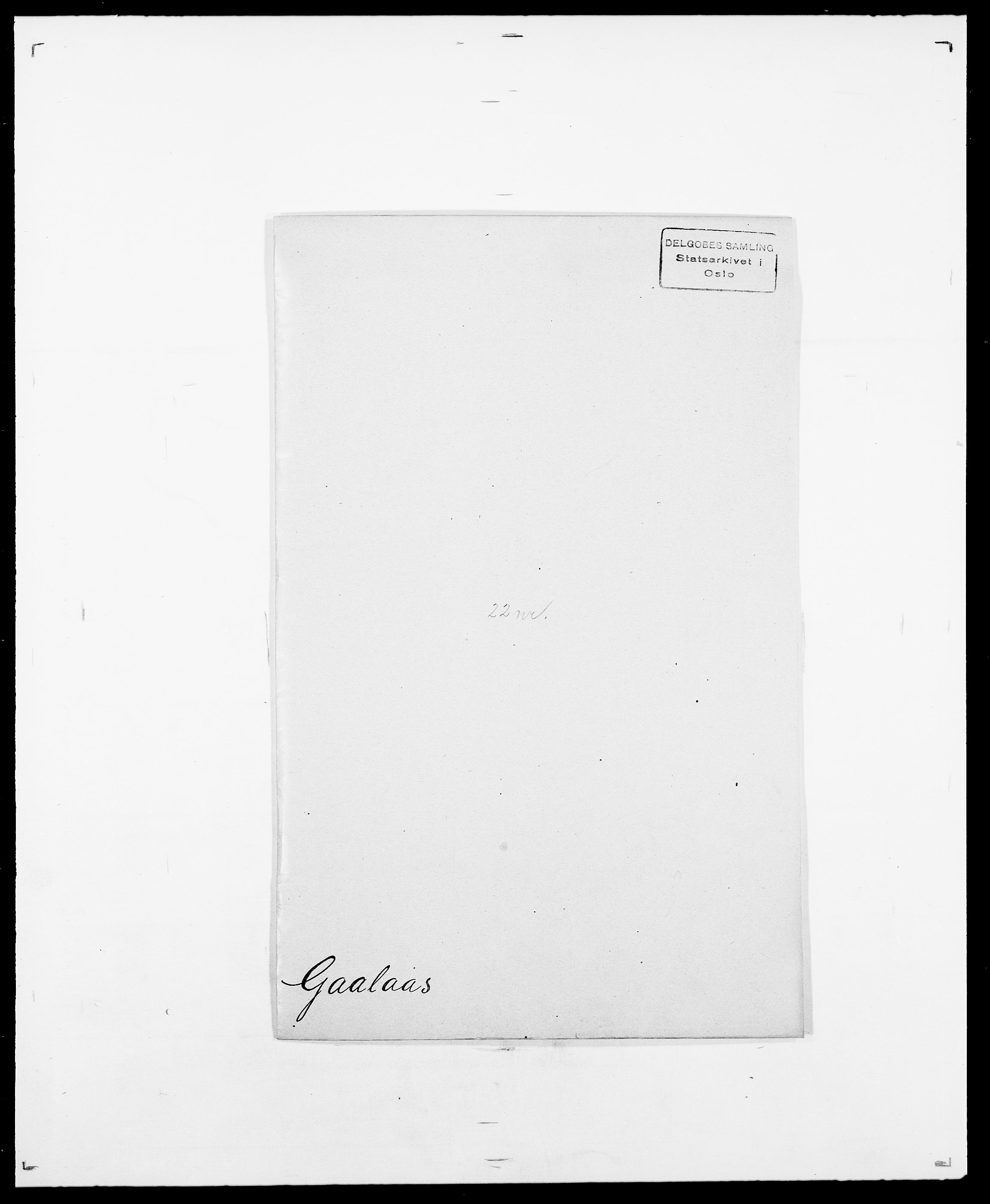 SAO, Delgobe, Charles Antoine - samling, D/Da/L0013: Forbos - Geving, s. 308