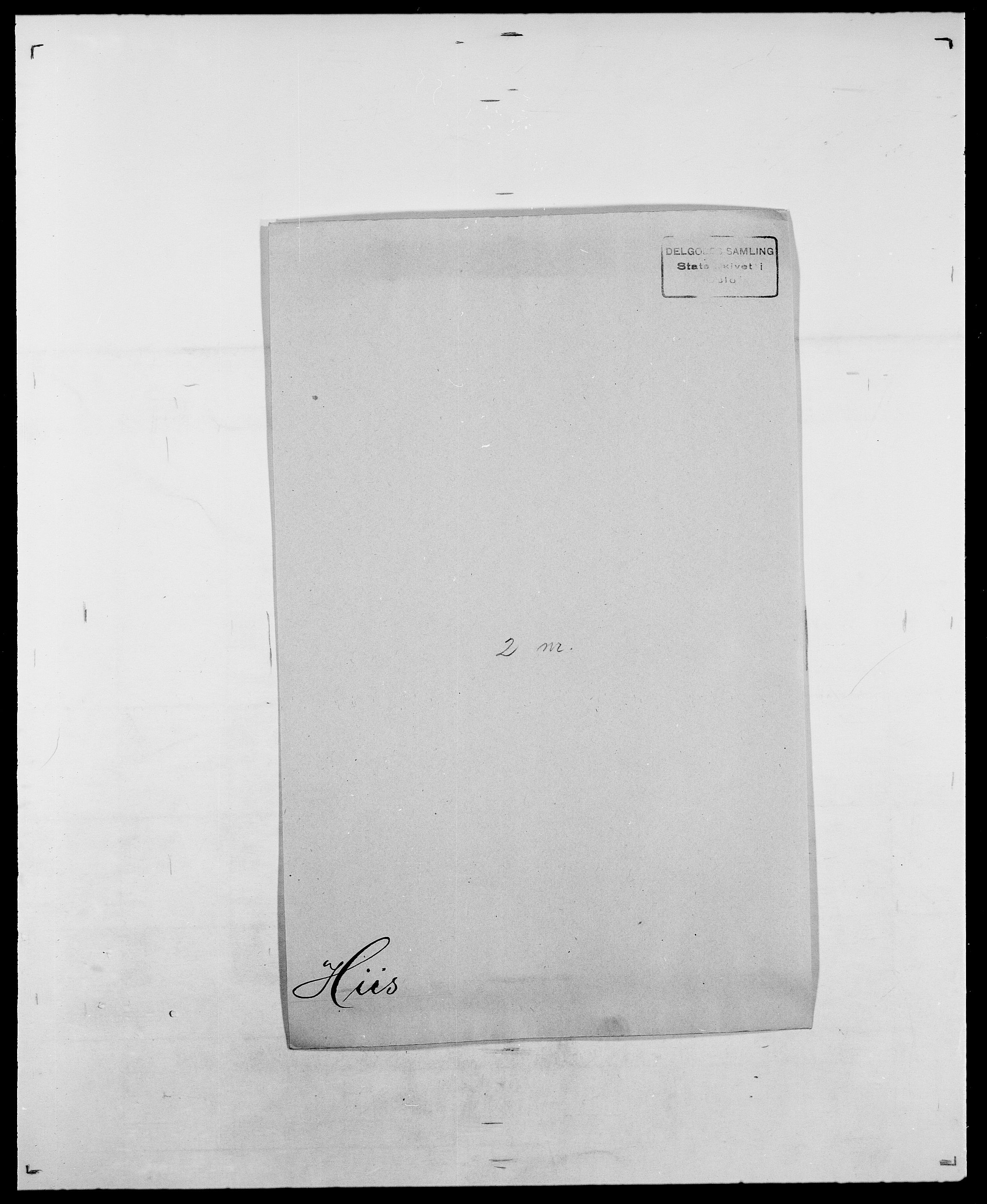 SAO, Delgobe, Charles Antoine - samling, D/Da/L0017: Helander - Hjørne, s. 419