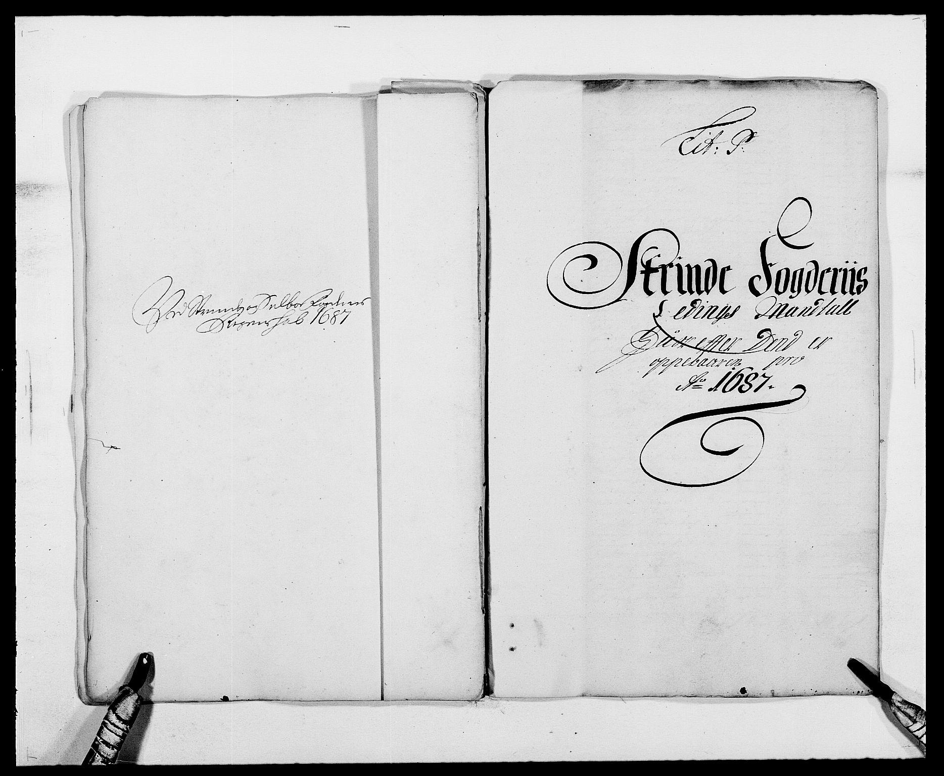 RA, Rentekammeret inntil 1814, Reviderte regnskaper, Fogderegnskap, R61/L4101: Fogderegnskap Strinda og Selbu, 1687-1688, s. 111