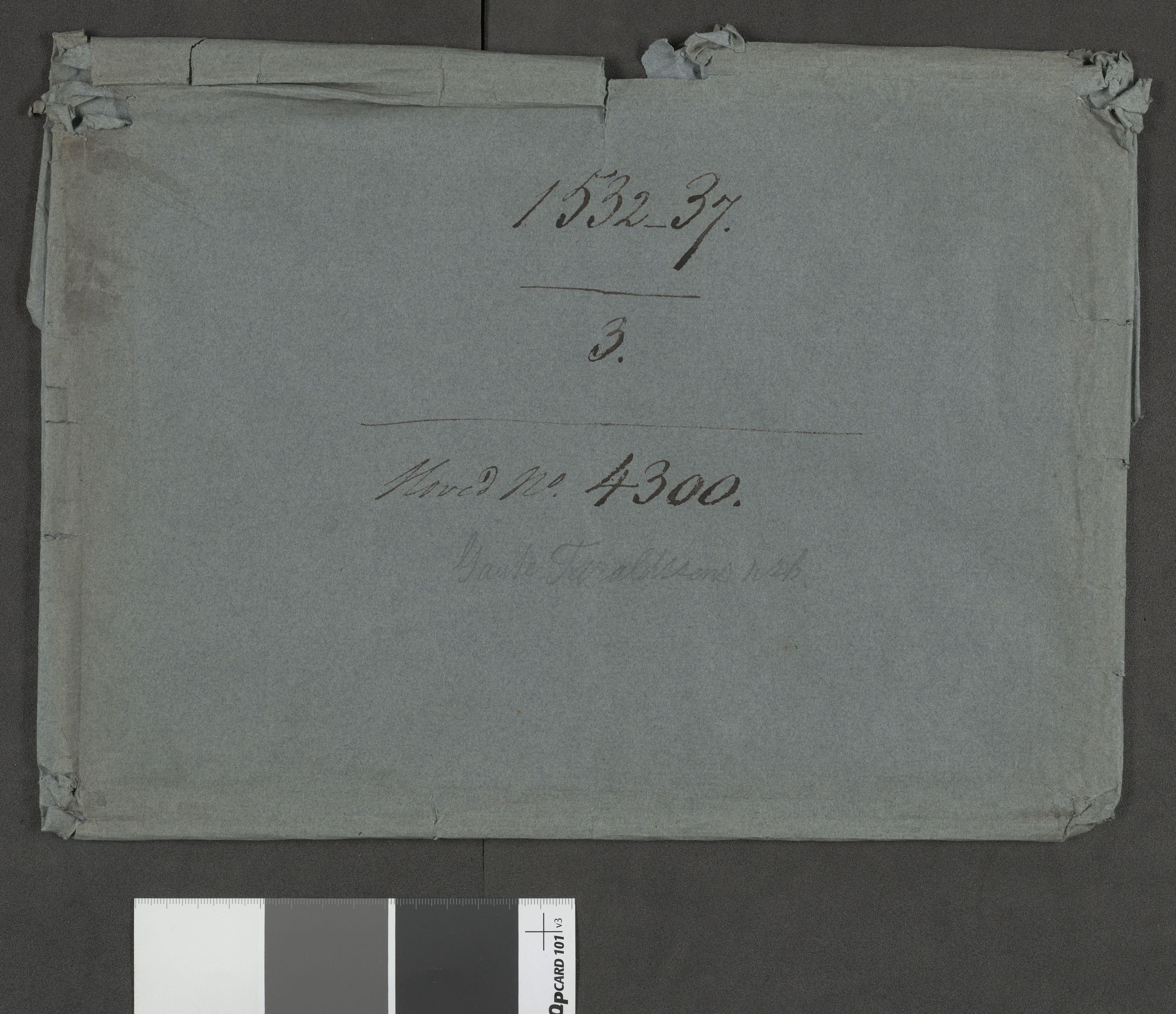 RA, Riksarkivets diplomsamling, F13/F13b/L0017: Olav Engelbrektssons regnskaper, 1536-1537