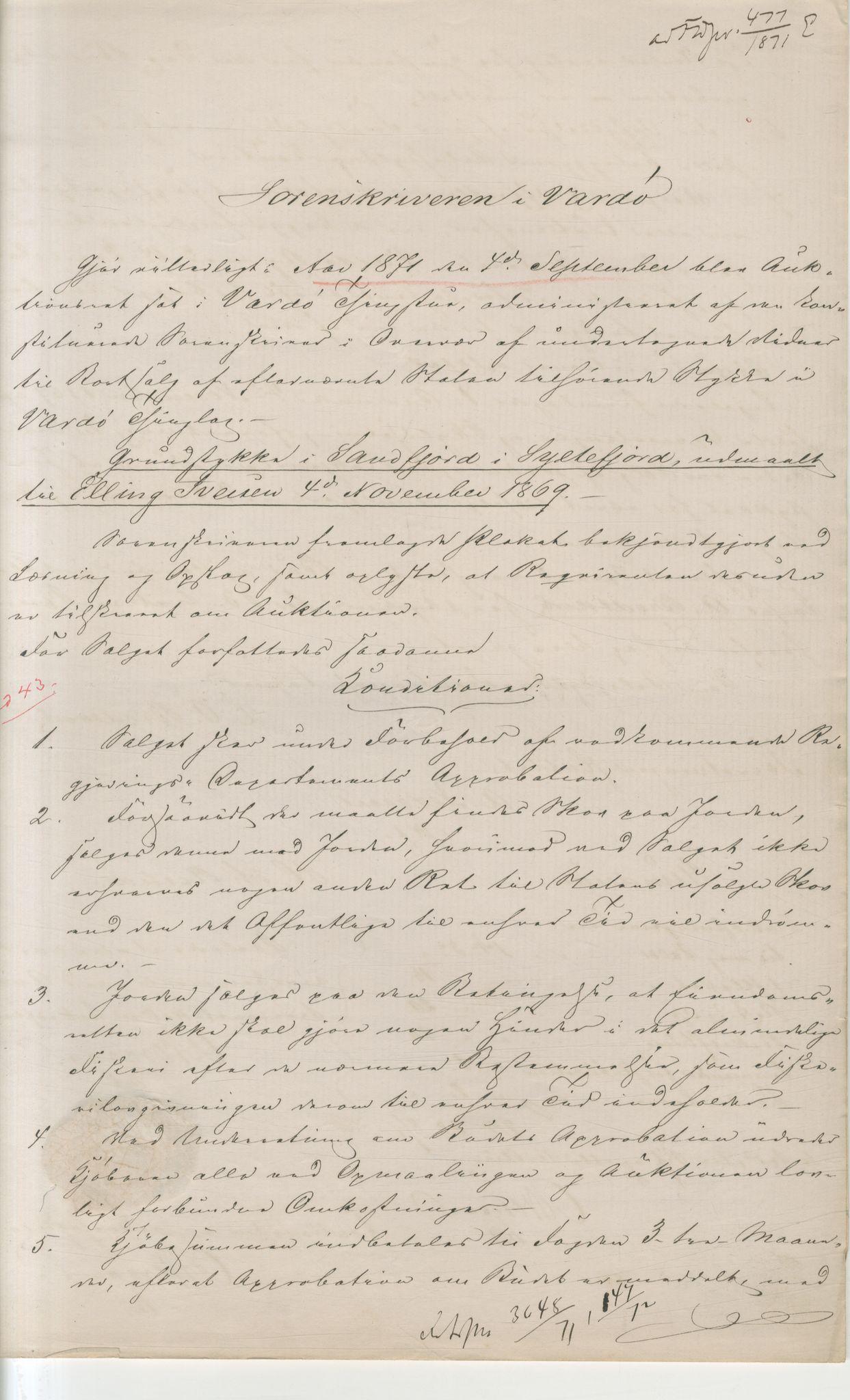 VAMU, Brodtkorb handel A/S, Q/Qb/L0003: Faste eiendommer i Vardø Herred, 1862-1939, s. 231