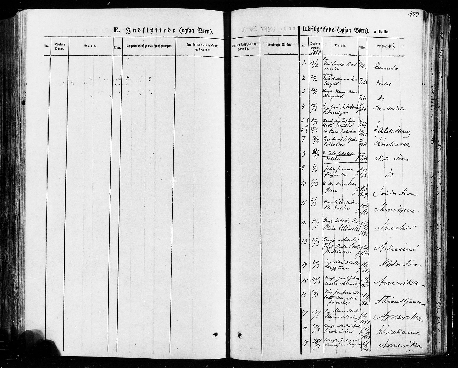 SAH, Vågå prestekontor, Ministerialbok nr. 7 /1, 1872-1886, s. 473