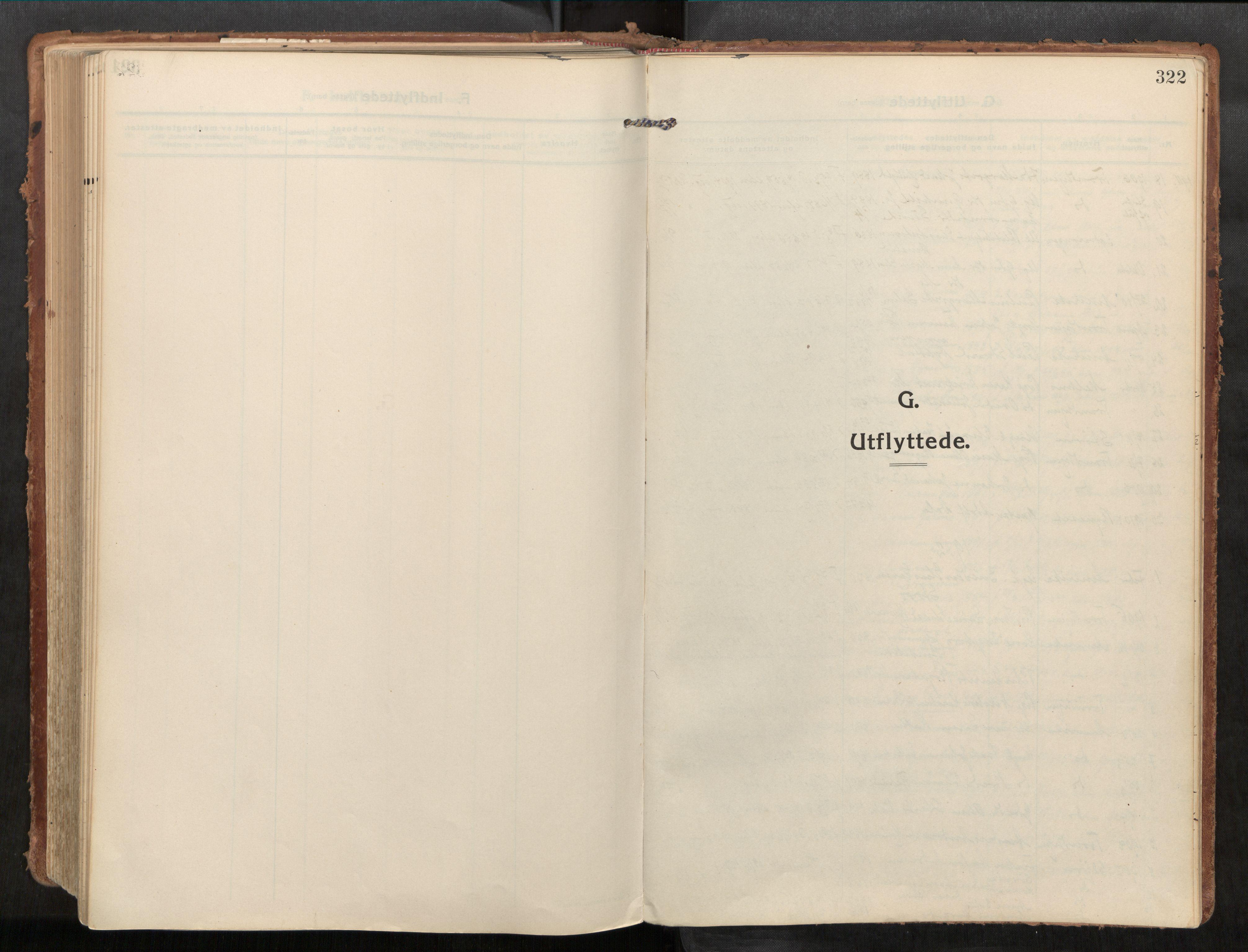SAT, Stadsbygd sokneprestkontor, I/I1/I1a/L0001: Ministerialbok nr. 1, 1911-1929, s. 322
