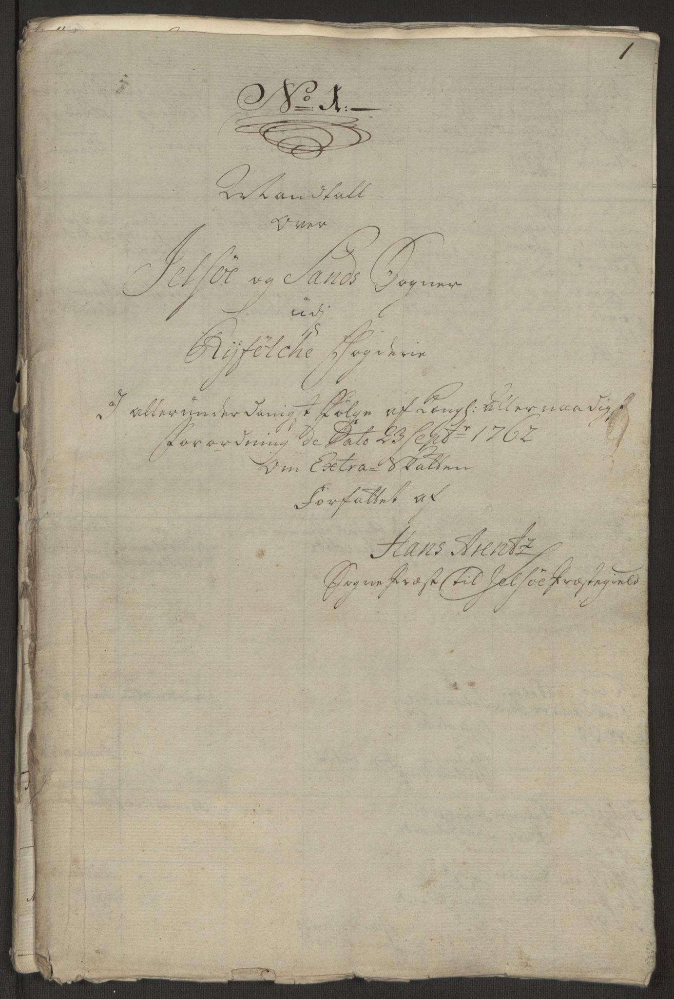 RA, Rentekammeret inntil 1814, Reviderte regnskaper, Hovedkasseregnskaper, Rf/L0072b: Ekstraskatteregnskap, 1762, s. 81