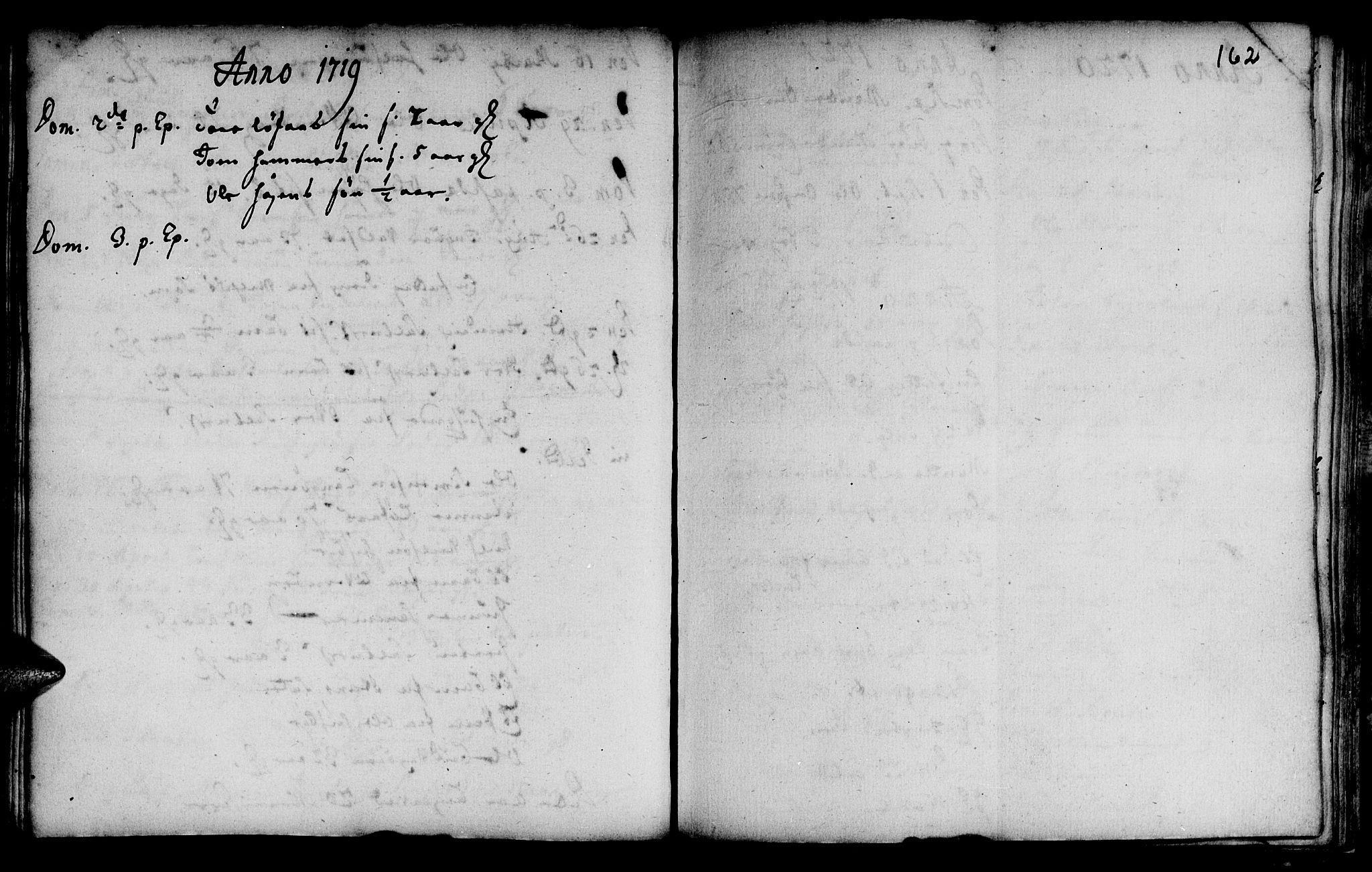 SAT, Ministerialprotokoller, klokkerbøker og fødselsregistre - Sør-Trøndelag, 666/L0783: Ministerialbok nr. 666A01, 1702-1753, s. 162