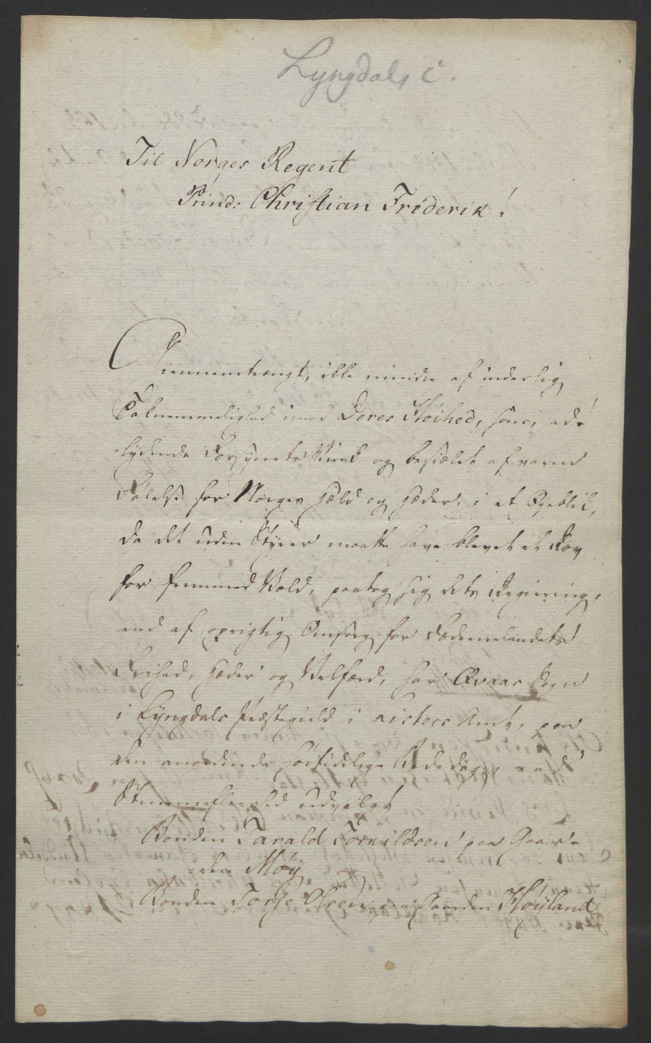 RA, Statsrådssekretariatet, D/Db/L0008: Fullmakter for Eidsvollsrepresentantene i 1814. , 1814, s. 175