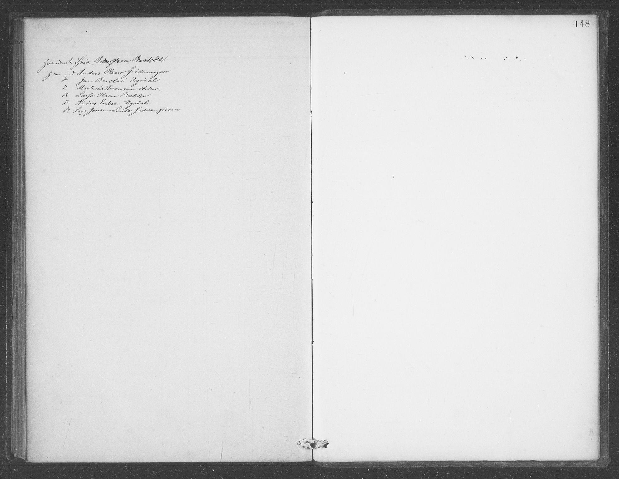 SAB, Aurland sokneprestembete, H/Ha/Had/L0001: Ministerialbok nr. D  1, 1880-1903, s. 148