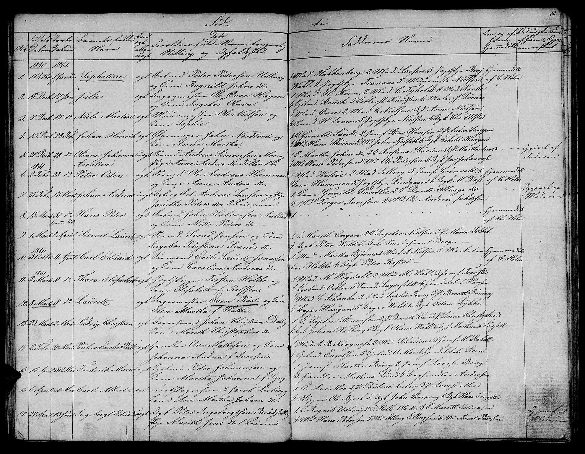 SAT, Ministerialprotokoller, klokkerbøker og fødselsregistre - Sør-Trøndelag, 604/L0182: Ministerialbok nr. 604A03, 1818-1850, s. 30