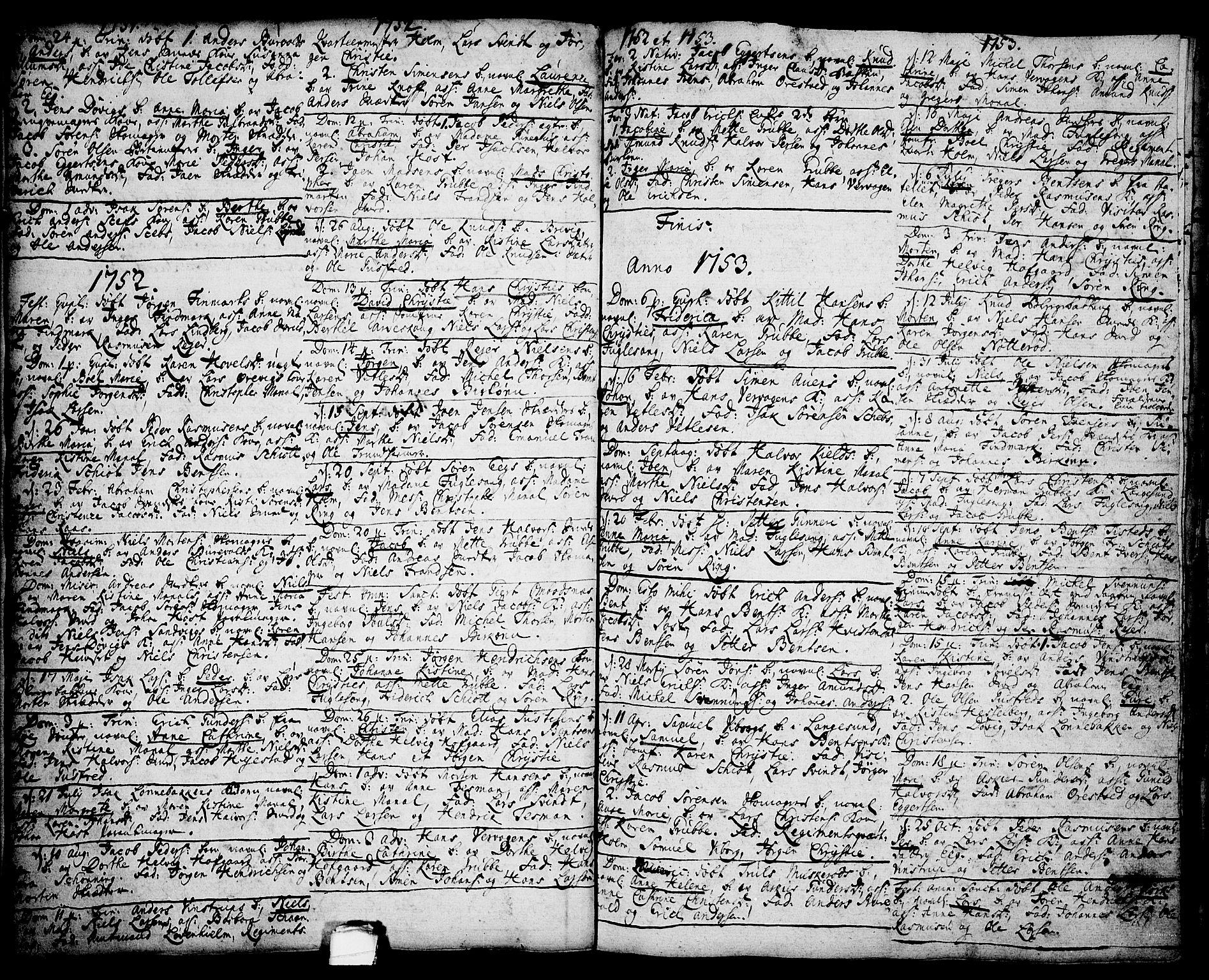 SAKO, Brevik kirkebøker, F/Fa/L0002: Ministerialbok nr. 2, 1720-1764, s. 35b
