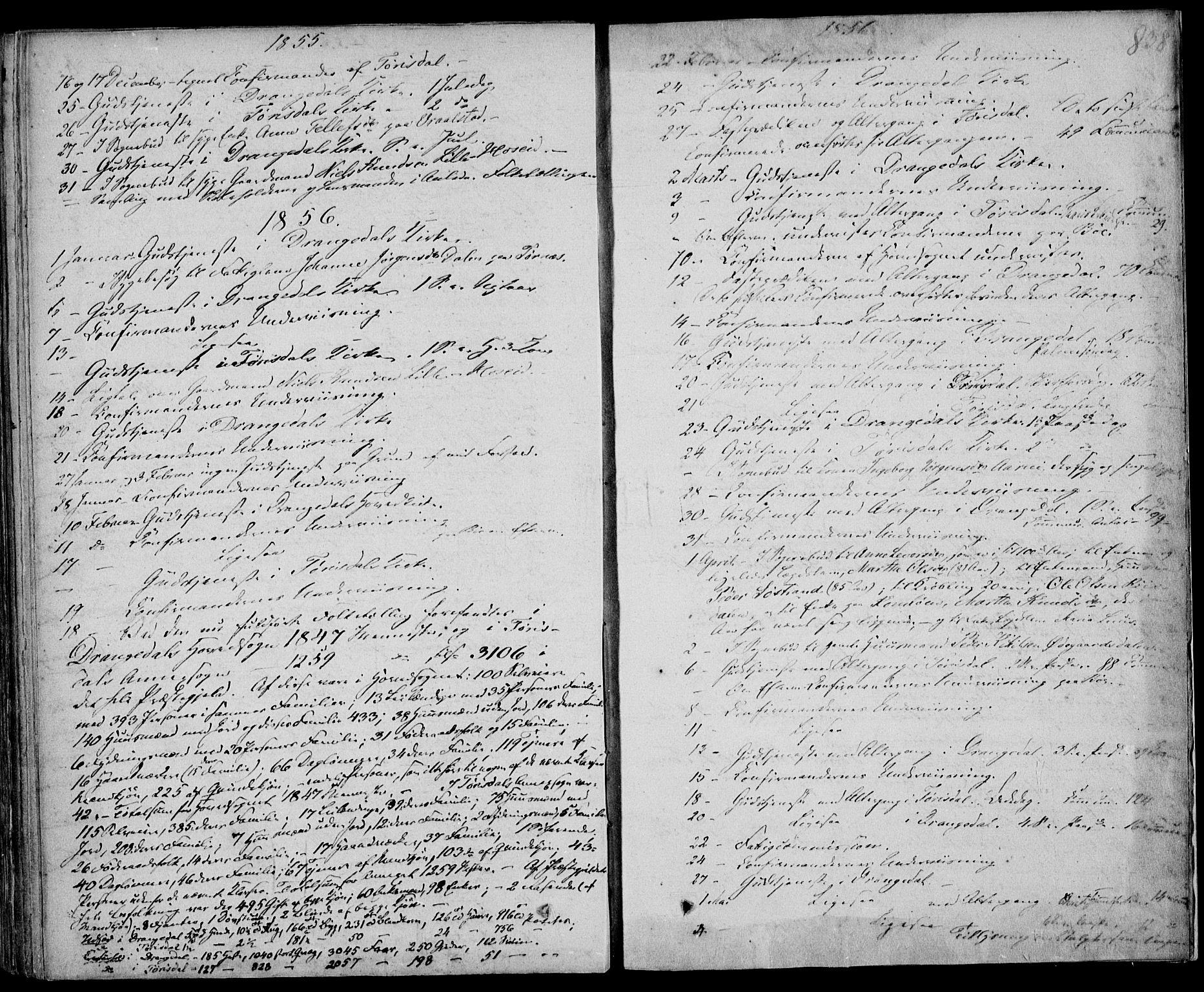 SAKO, Drangedal kirkebøker, F/Fa/L0007b: Ministerialbok nr. 7b, 1837-1856, s. 838