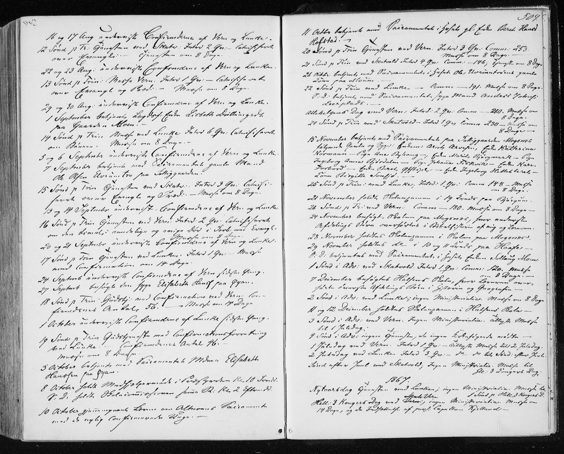 SAT, Ministerialprotokoller, klokkerbøker og fødselsregistre - Nord-Trøndelag, 709/L0075: Ministerialbok nr. 709A15, 1859-1870, s. 504