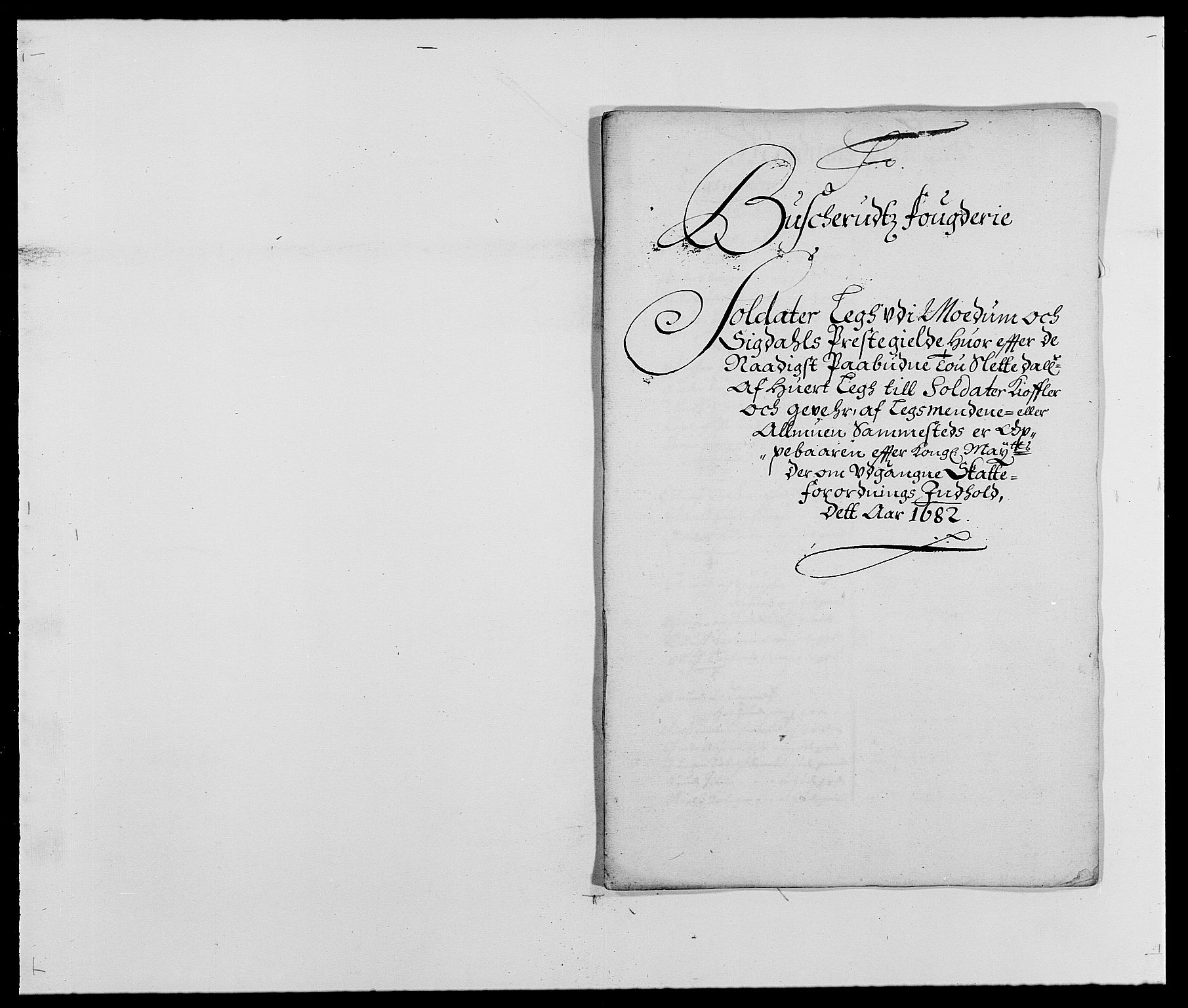 RA, Rentekammeret inntil 1814, Reviderte regnskaper, Fogderegnskap, R25/L1676: Fogderegnskap Buskerud, 1682, s. 102