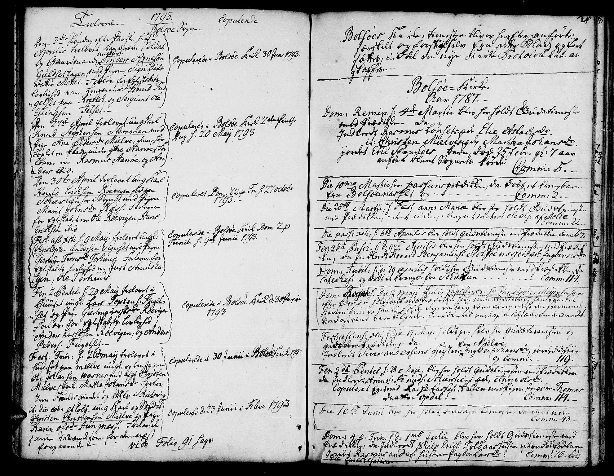 SAT, Ministerialprotokoller, klokkerbøker og fødselsregistre - Møre og Romsdal, 555/L0648: Ministerialbok nr. 555A01, 1759-1793, s. 24