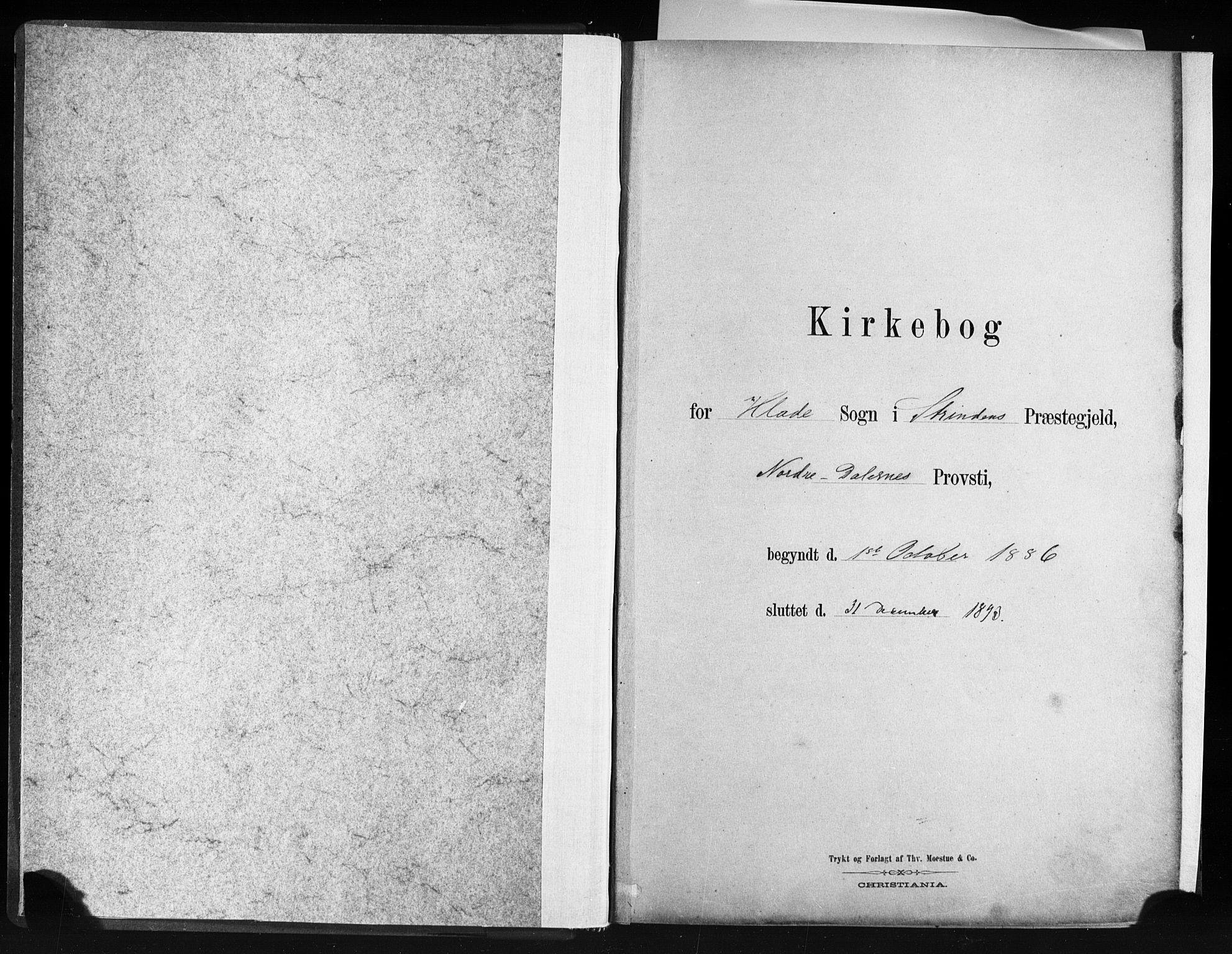 SAT, Ministerialprotokoller, klokkerbøker og fødselsregistre - Sør-Trøndelag, 606/L0300: Ministerialbok nr. 606A15, 1886-1893