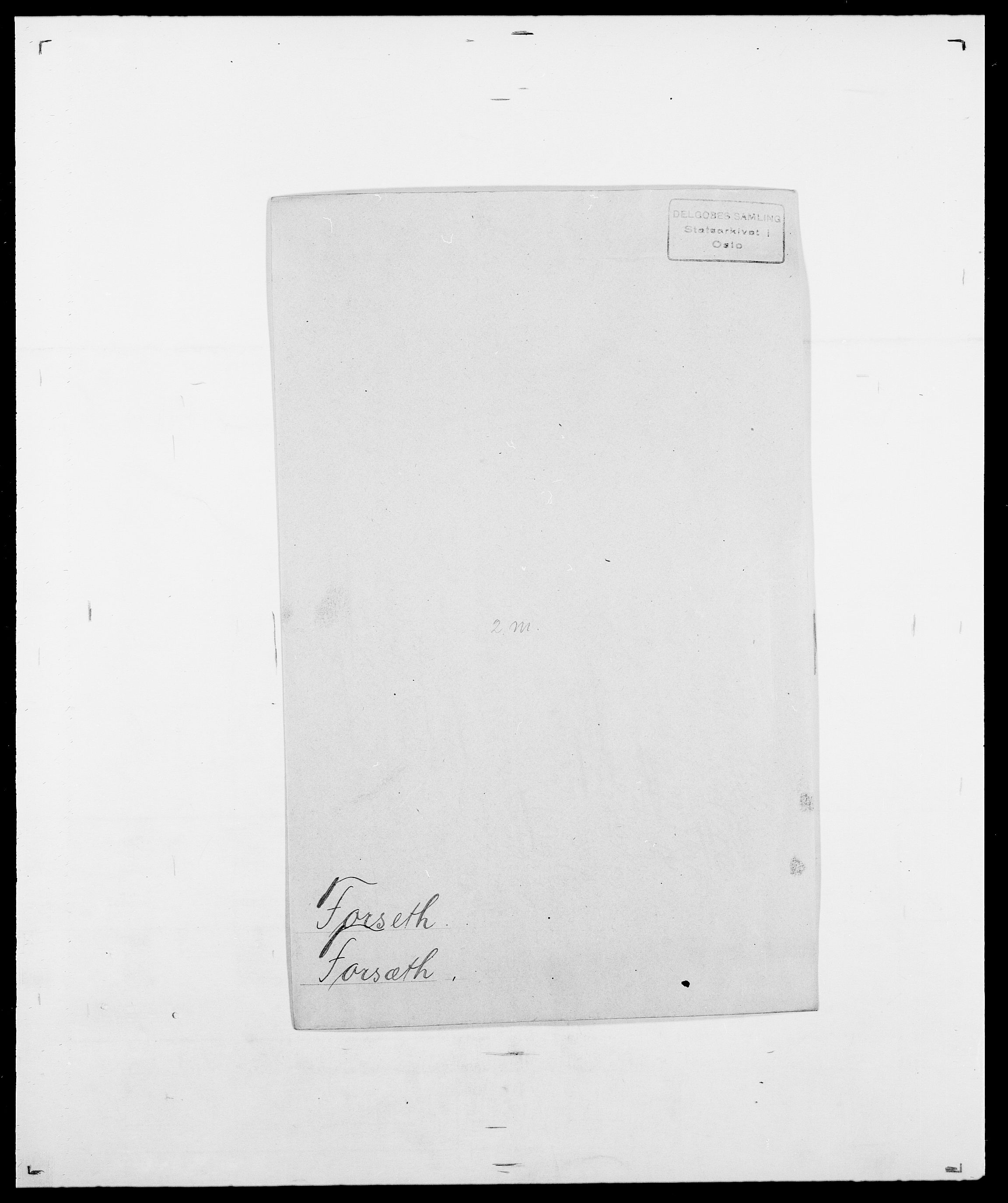 SAO, Delgobe, Charles Antoine - samling, D/Da/L0012: Flor, Floer, Flohr - Fritzner, s. 607