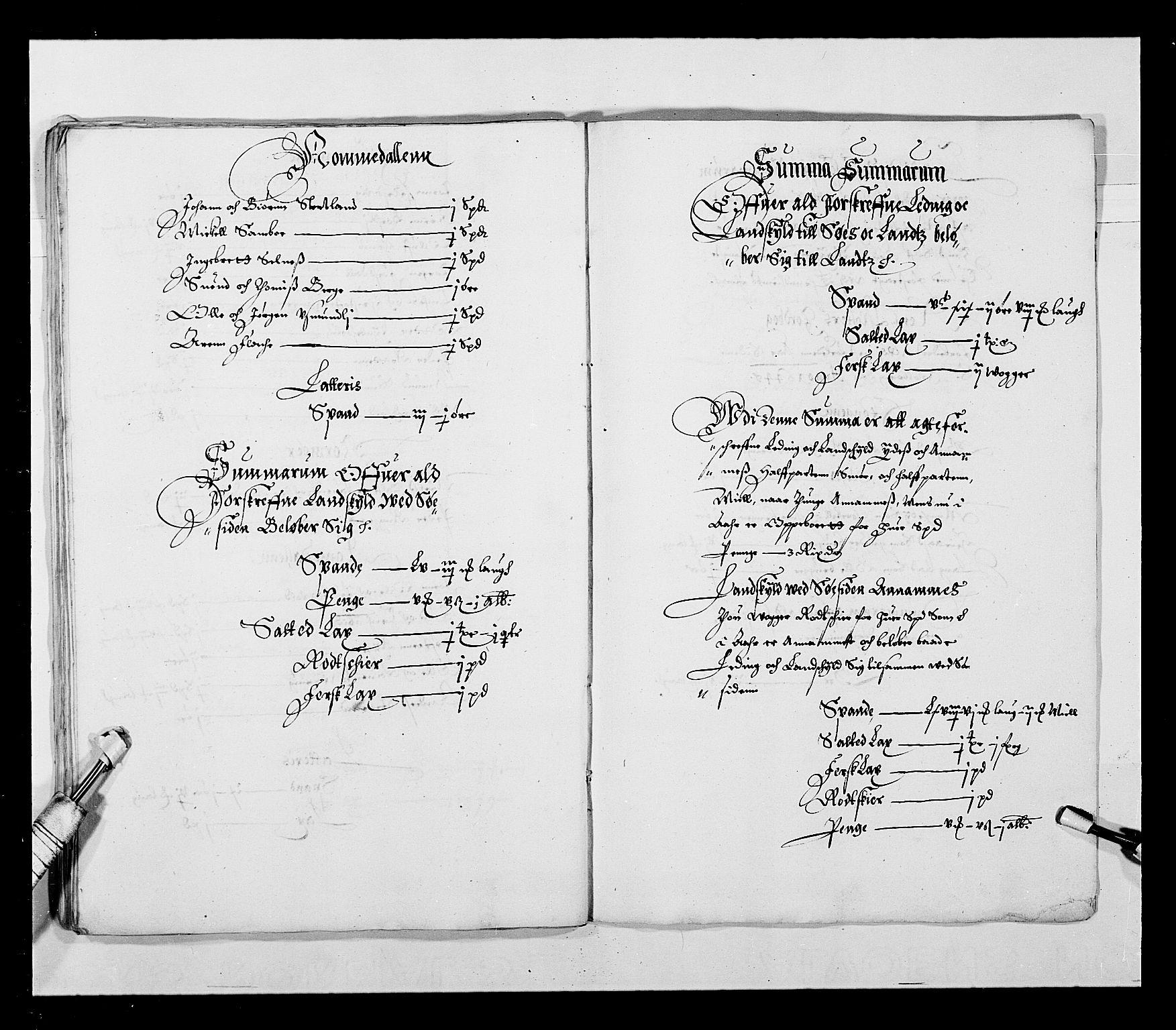 RA, Stattholderembetet 1572-1771, Ek/L0027: Jordebøker 1633-1658:, 1644-1645, s. 30