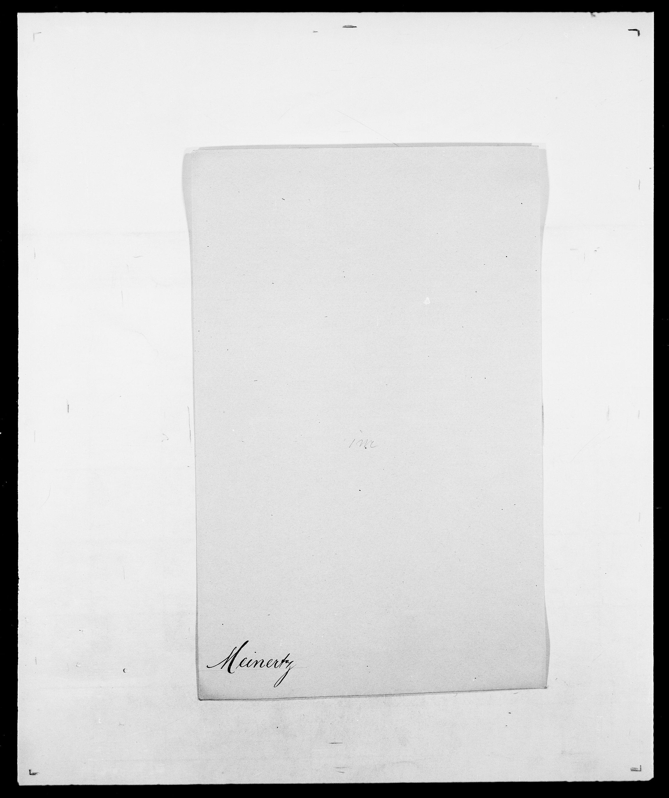 SAO, Delgobe, Charles Antoine - samling, D/Da/L0026: Mechelby - Montoppidan, s. 195