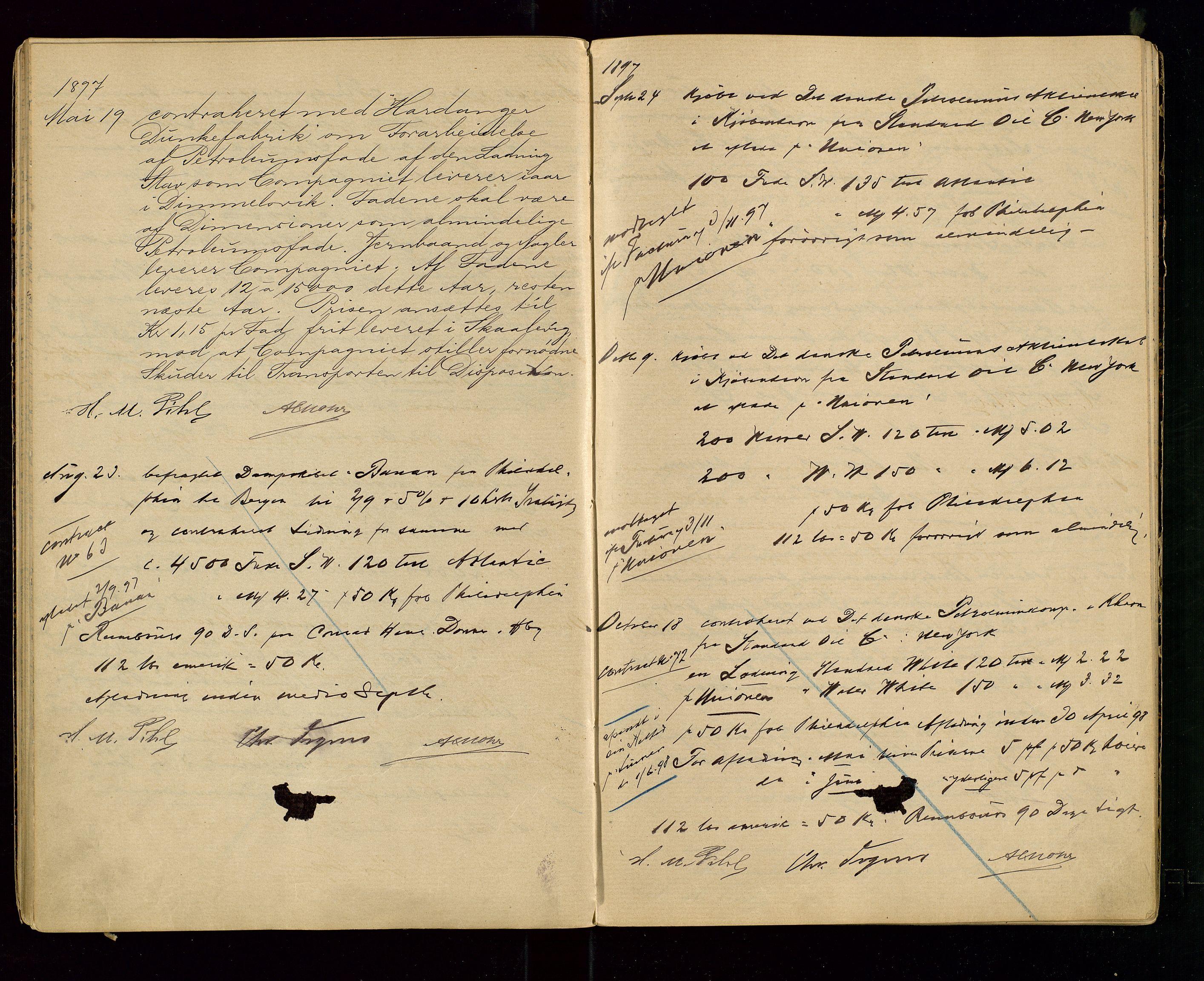 SAST, PA 1533 - A/S Vestlandske Petroleumscompani, A/Aa/L0001: Generalforsamlinger og styreprotokoller, 1890-1907, s. 31