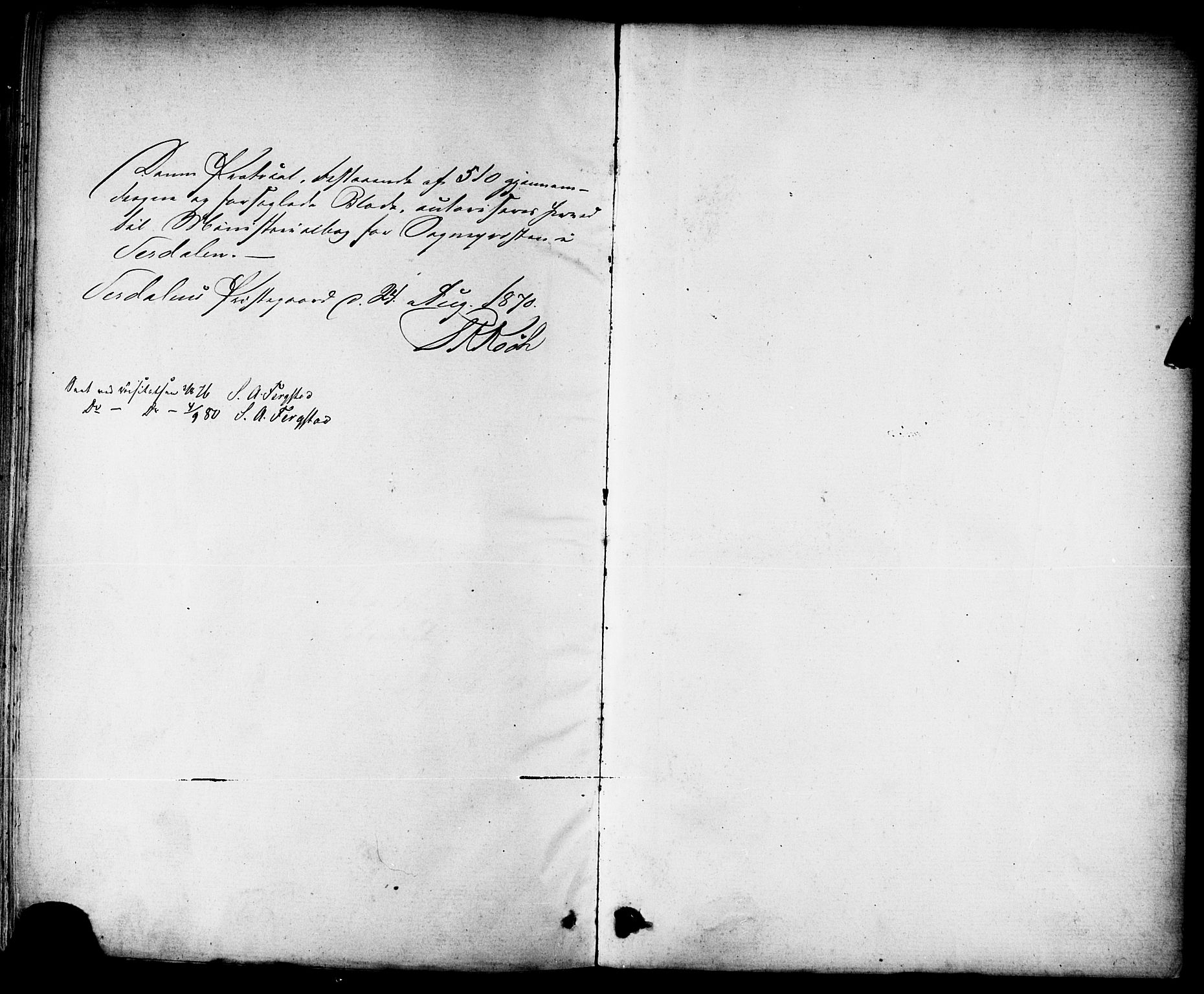 SAT, Ministerialprotokoller, klokkerbøker og fødselsregistre - Nord-Trøndelag, 723/L0242: Ministerialbok nr. 723A11, 1870-1880