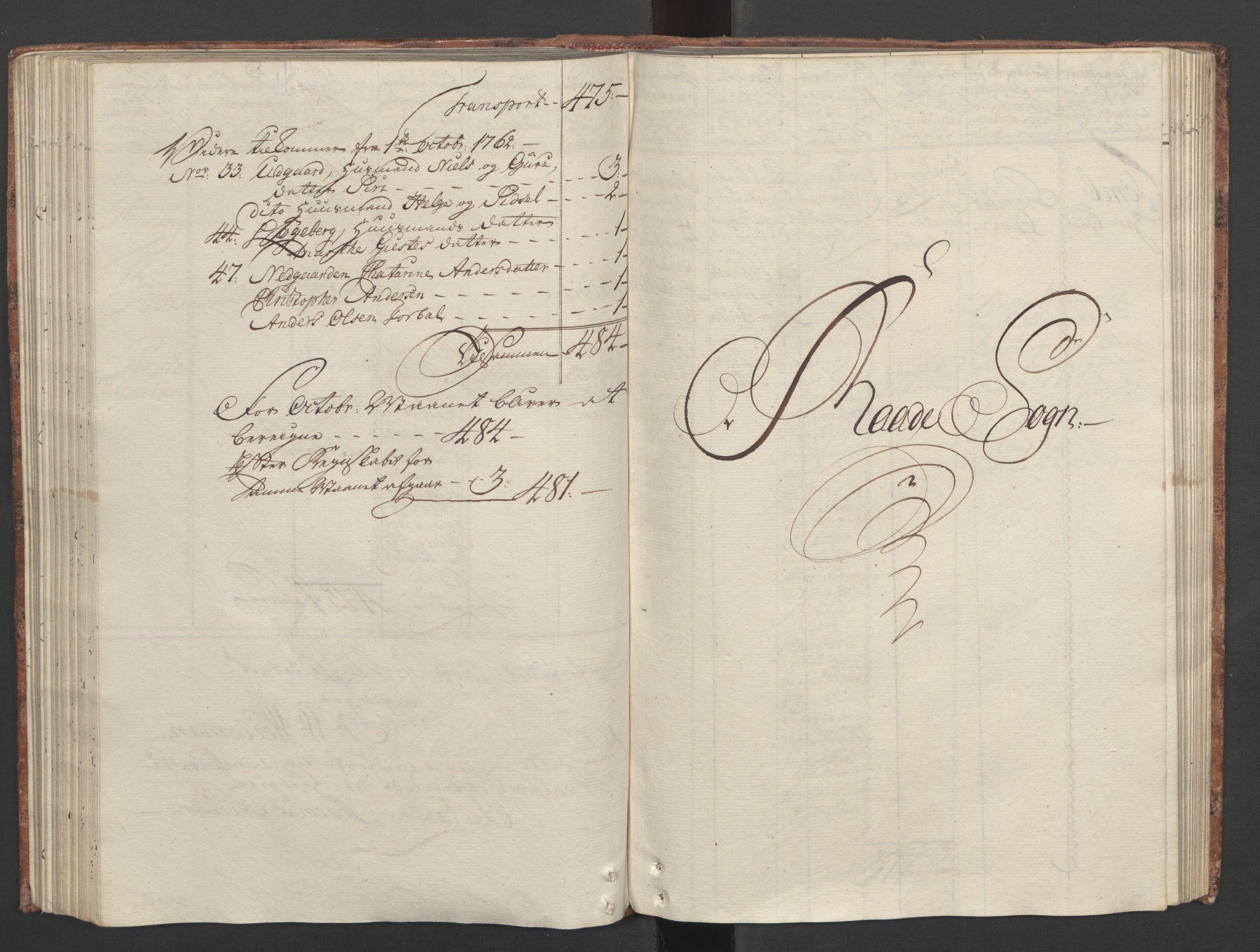 RA, Rentekammeret inntil 1814, Reviderte regnskaper, Fogderegnskap, R04/L0260: Ekstraskatten Moss, Onsøy, Tune, Veme og Åbygge, 1762, s. 177